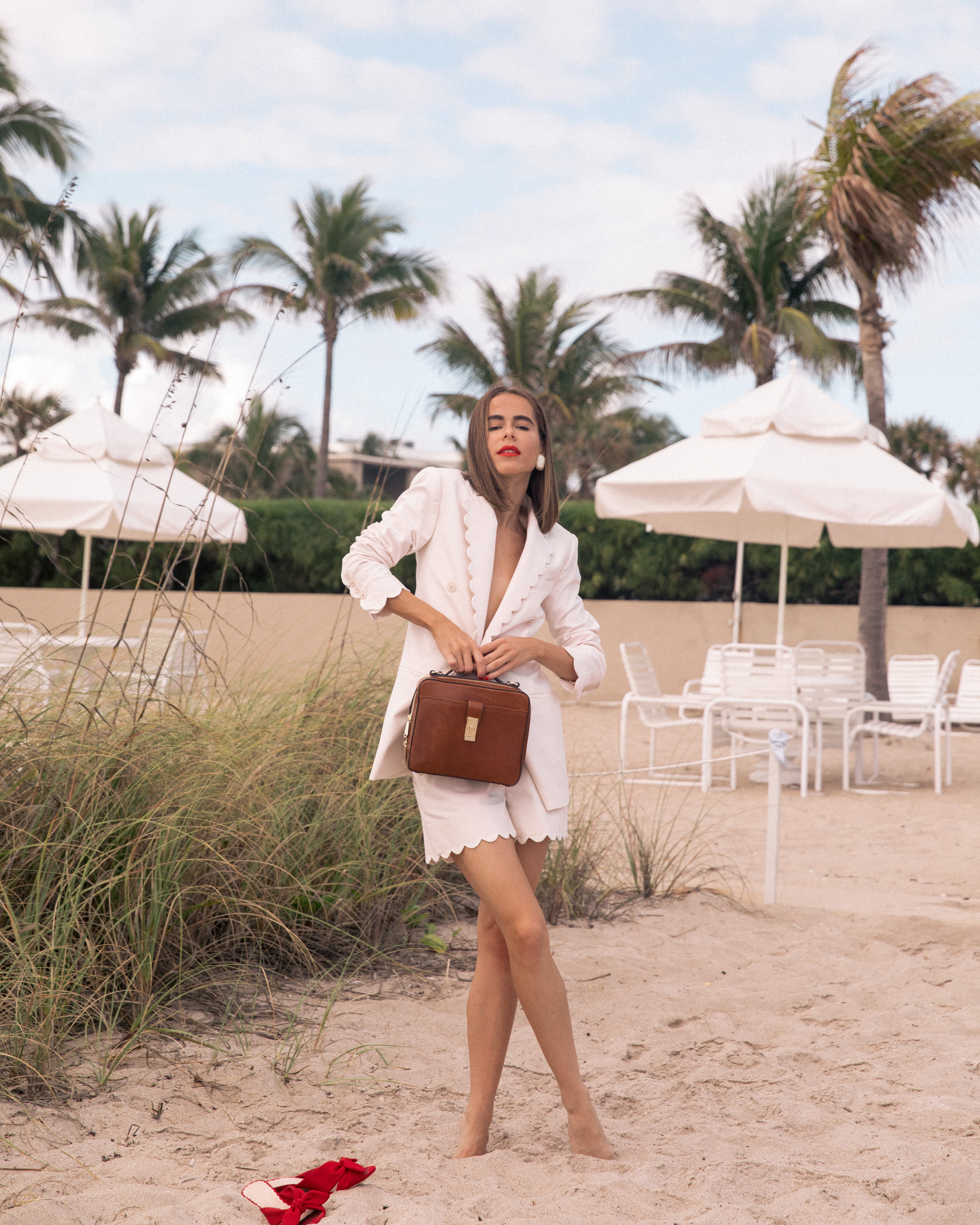 Fashion Blogger Stephanie Hill shares her break from travel and love for Brahmin on The Style Bungalow
