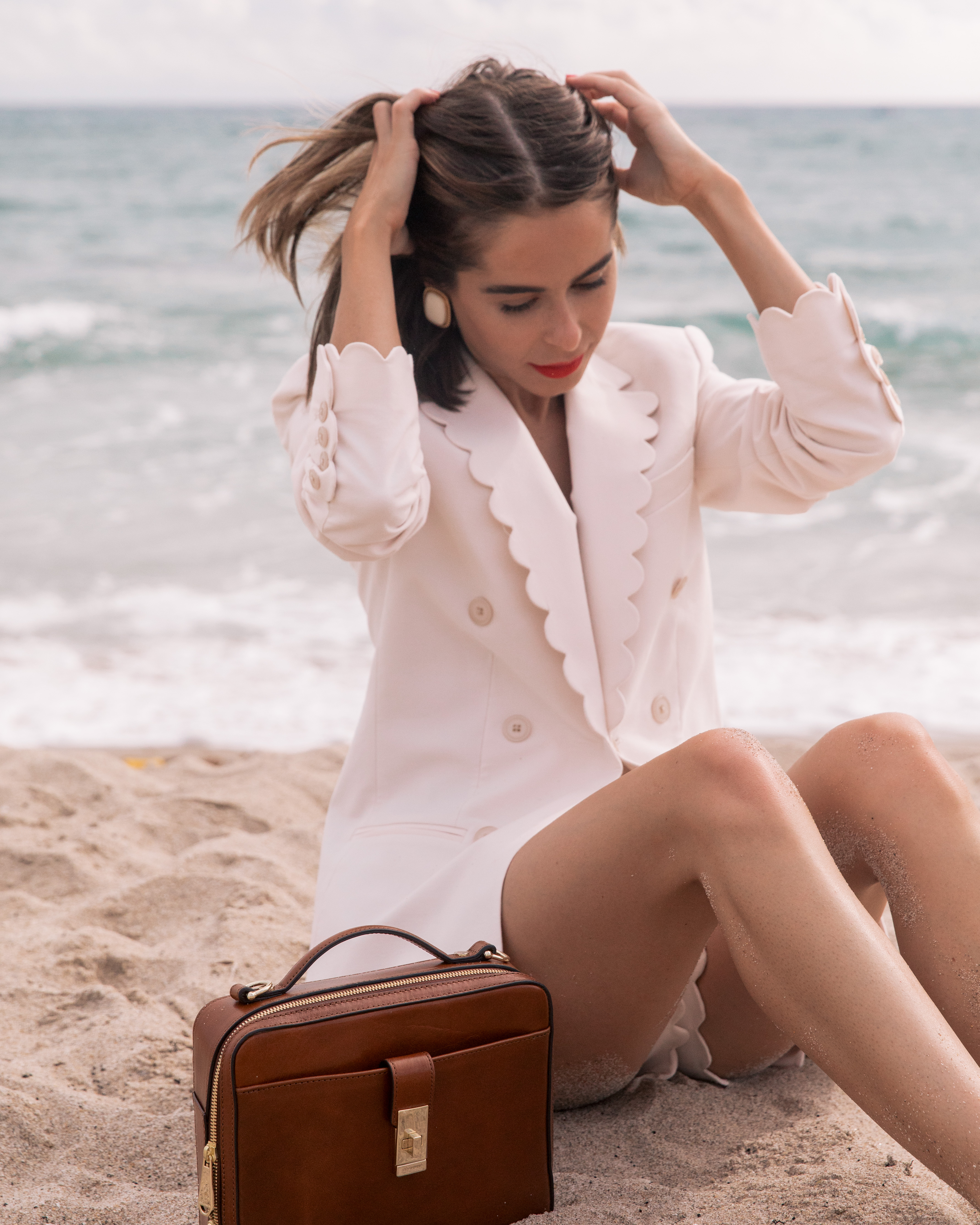 Stephanie shares her break from travel and love for Brahmin on The Style Bungalow