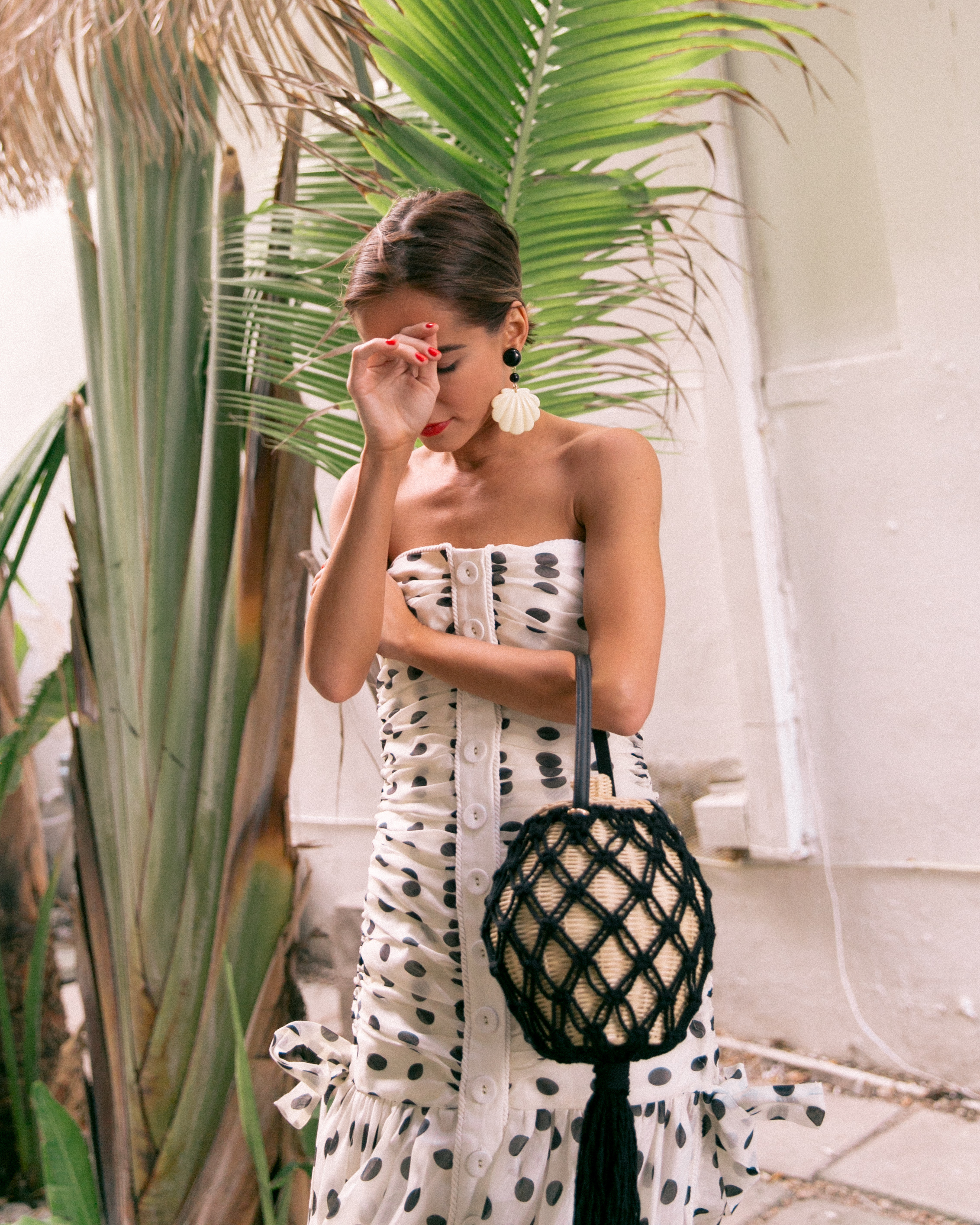 Fashion Blogger Stephanie Hill wears an ootd featuring Zimmerman dress in Miami
