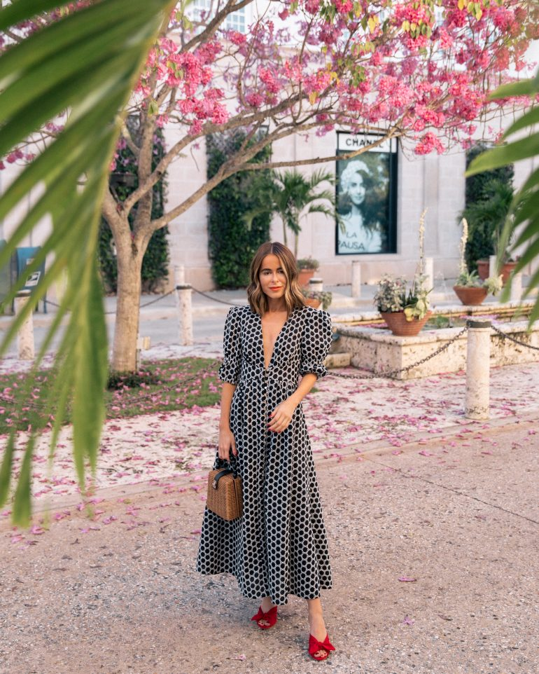Stephanie Hill from The Style Bungalow wears ootd featuring Keepsake the Label dress