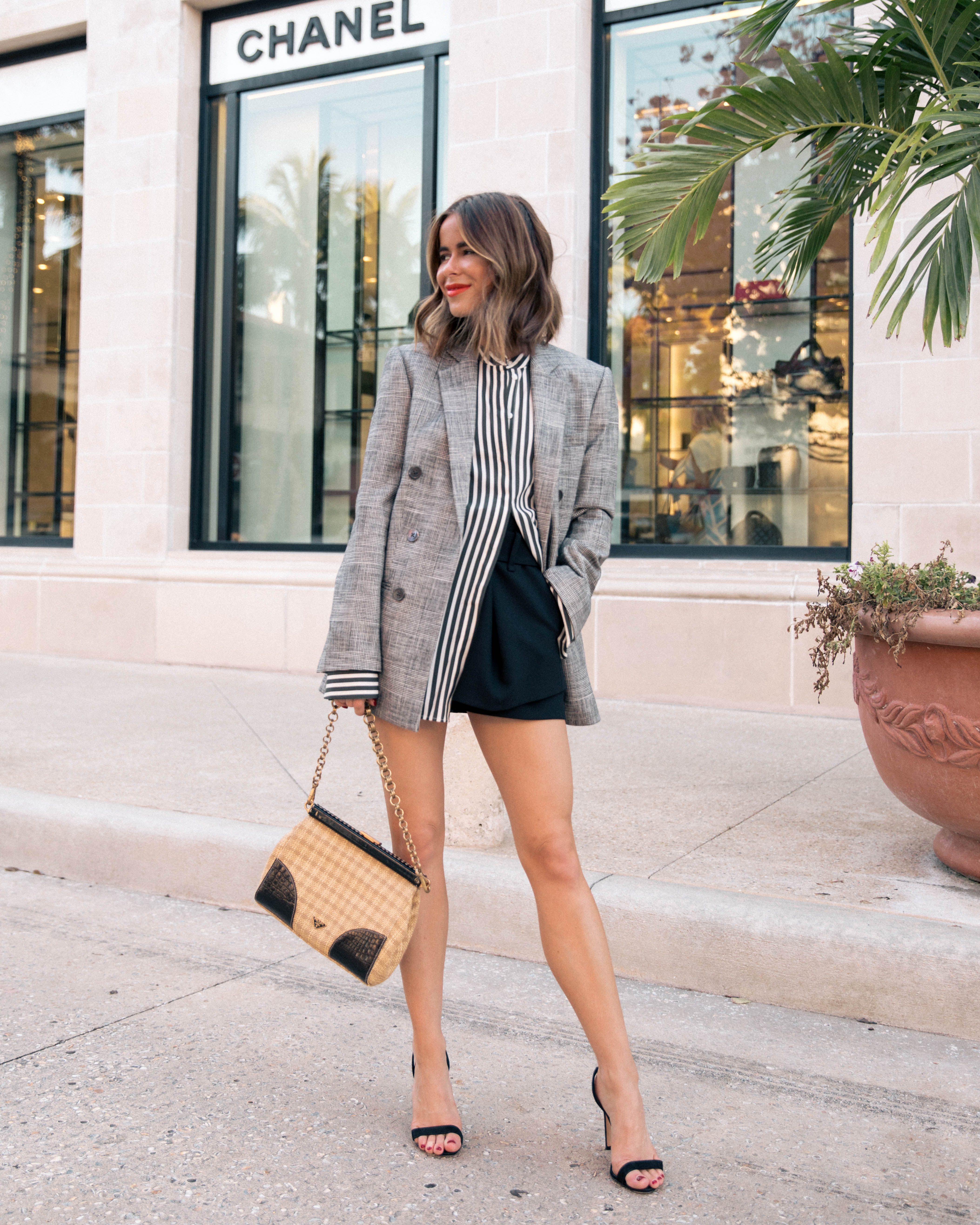 Stephanie Hill from The Style Bungalow wears ootd featuring Rebecca Taylor