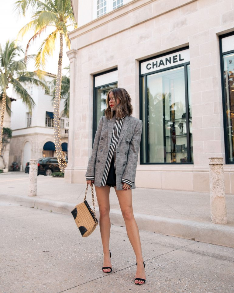 Style Blogger Stephanie Hill from The Style Bungalow wears ootd featuring Rebecca Taylor