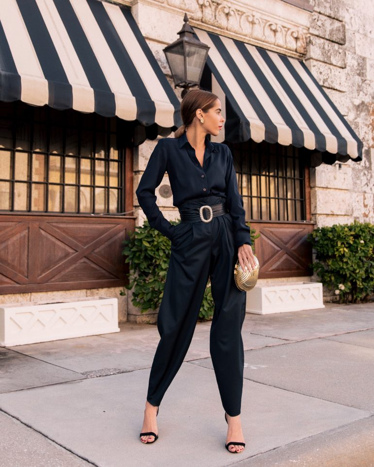 Fashion Blogger Stephanie Hill from The Style Bungalow wears ootd featuring Ann Taylor