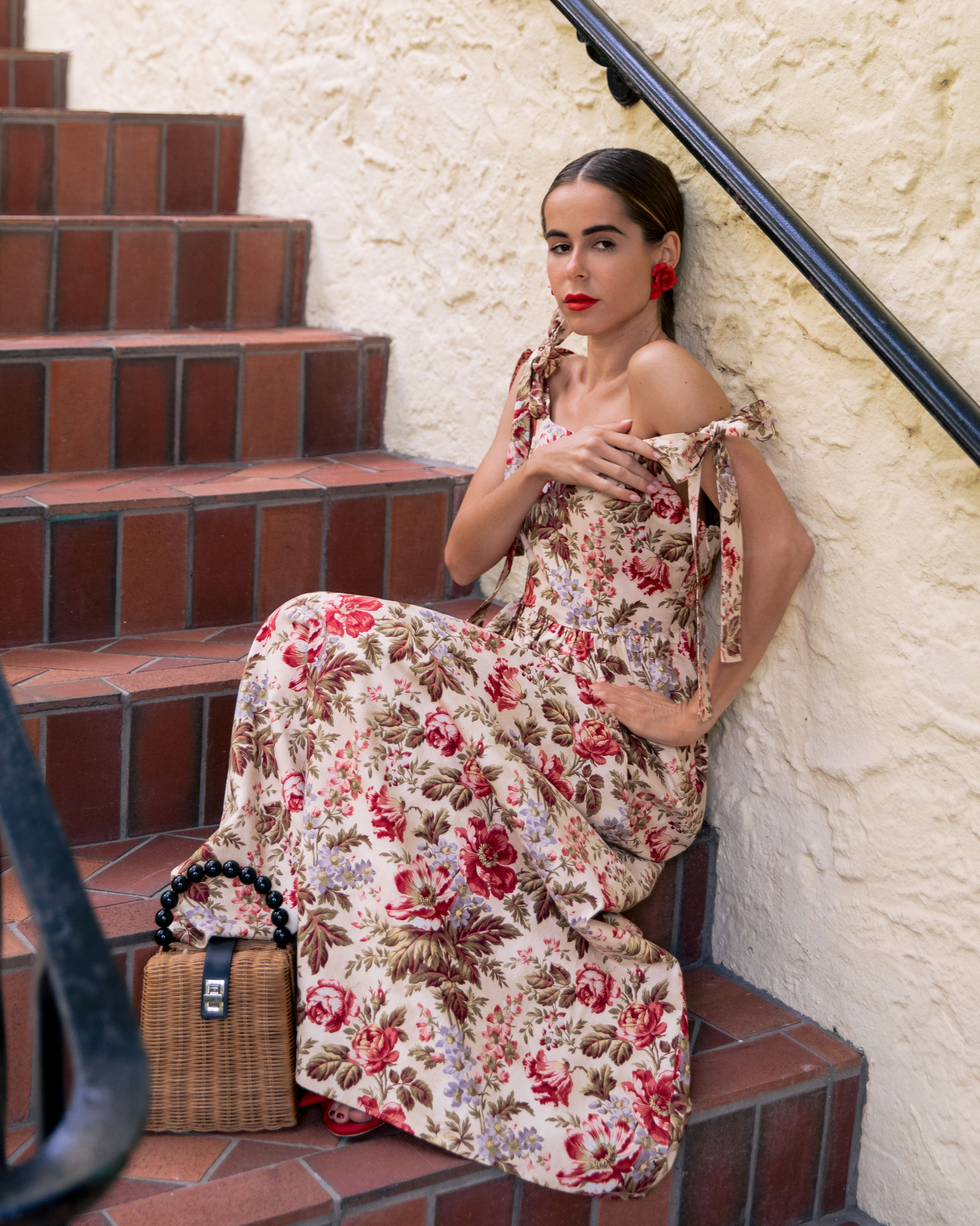Style Blogger Stephanie Hill on The Style Bungalow wears ootd featuring Gal Meets Glam 2019 March Collection