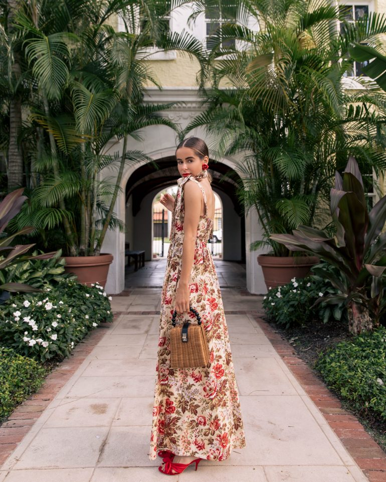 Fashion Blogger Stephanie Hill on The Style Bungalow wears ootd featuring Gal Meets Glam 2019 March Collection