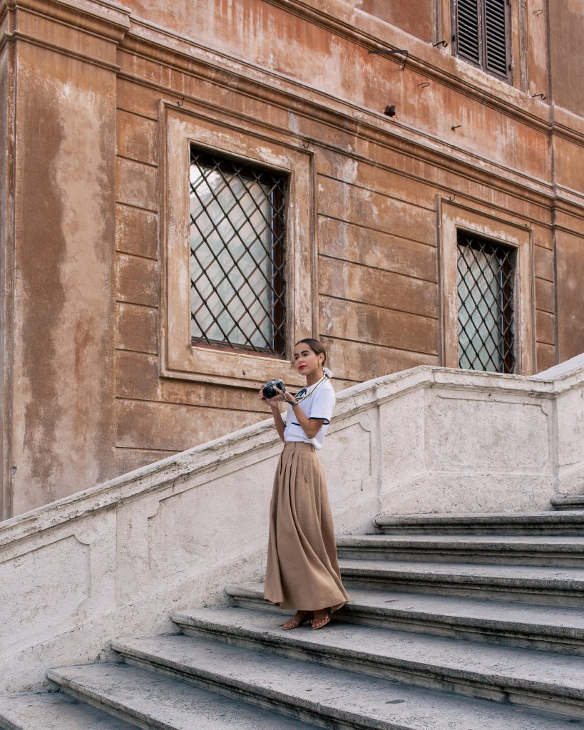 Fashion Blogger Stephanie Hill from The Style Bungalow talks My Roman Holiday + To Do's