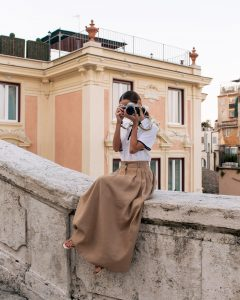 Fashion Blogger Stephanie Hill from The Style Bungalow on My Roman Holiday + To Do's