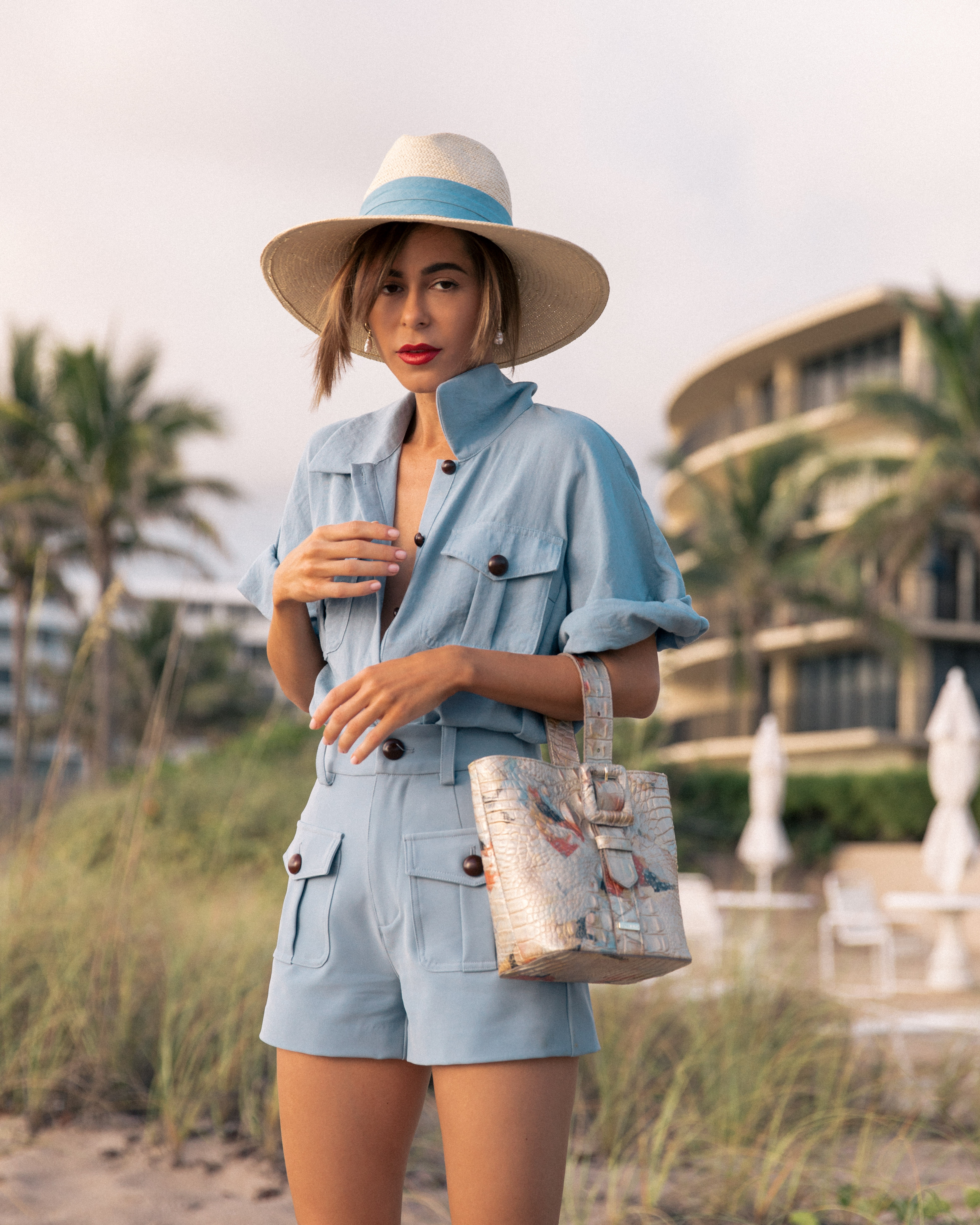 Stephanie Hill on The Style Bungalow's From Hot to Hotter Brahmin