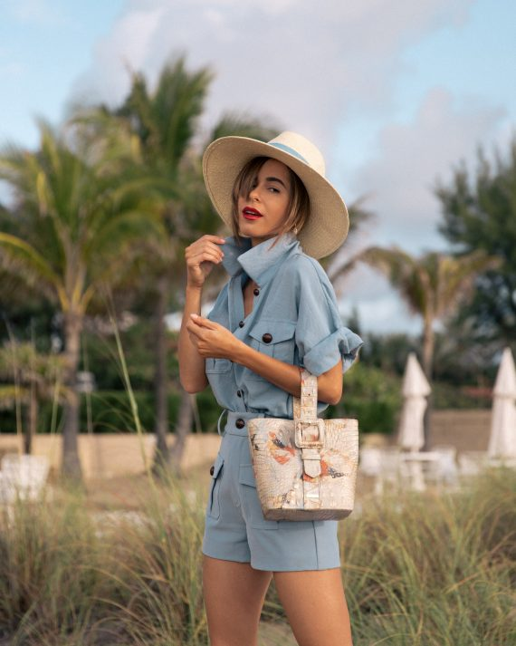 Fashion Blogger Stephanie Hill on The Style Bungalow's From Hot to Hotter Brahmin