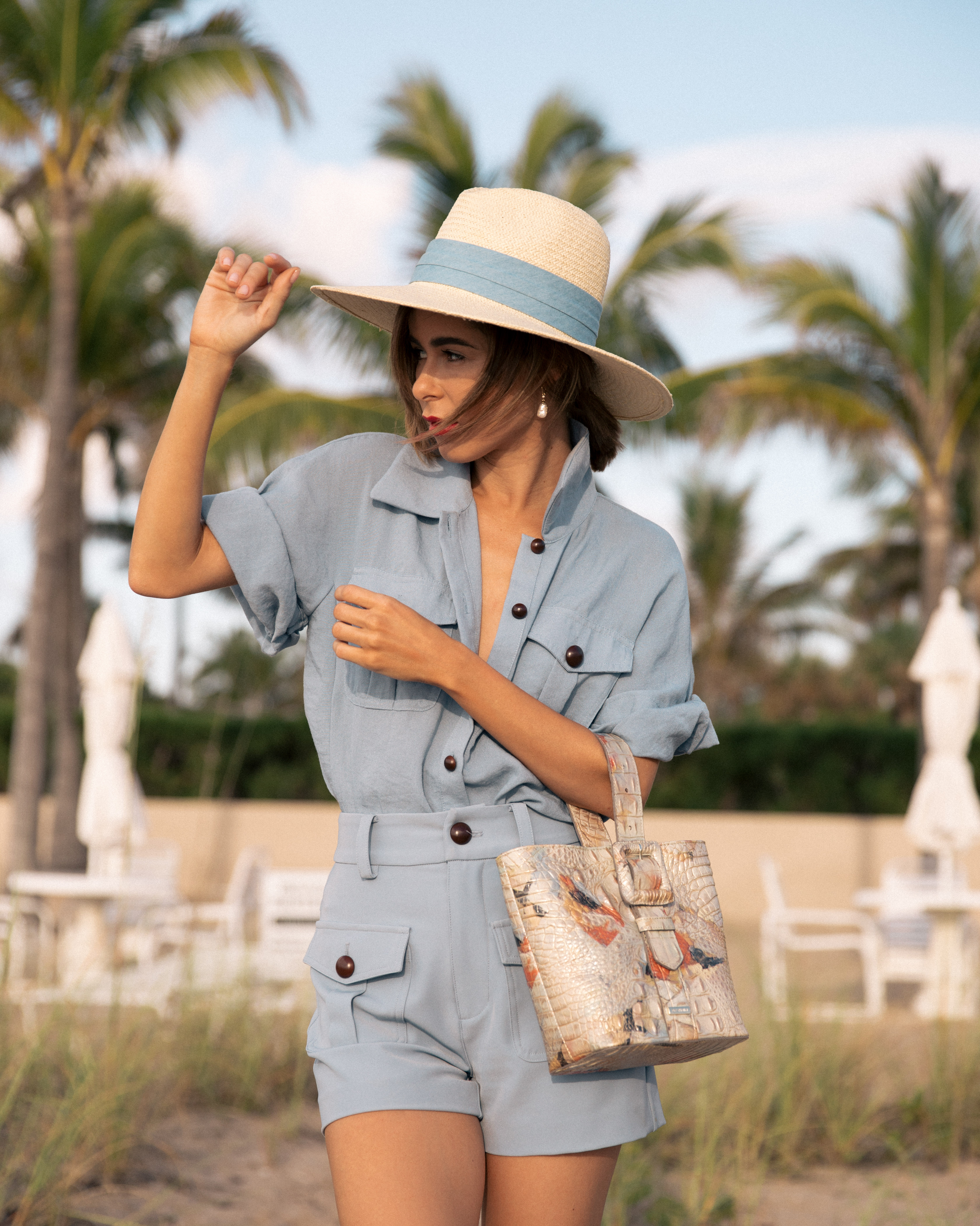 Blogger Stephanie Hill on The Style Bungalow's From Hot to Hotter Brahmin