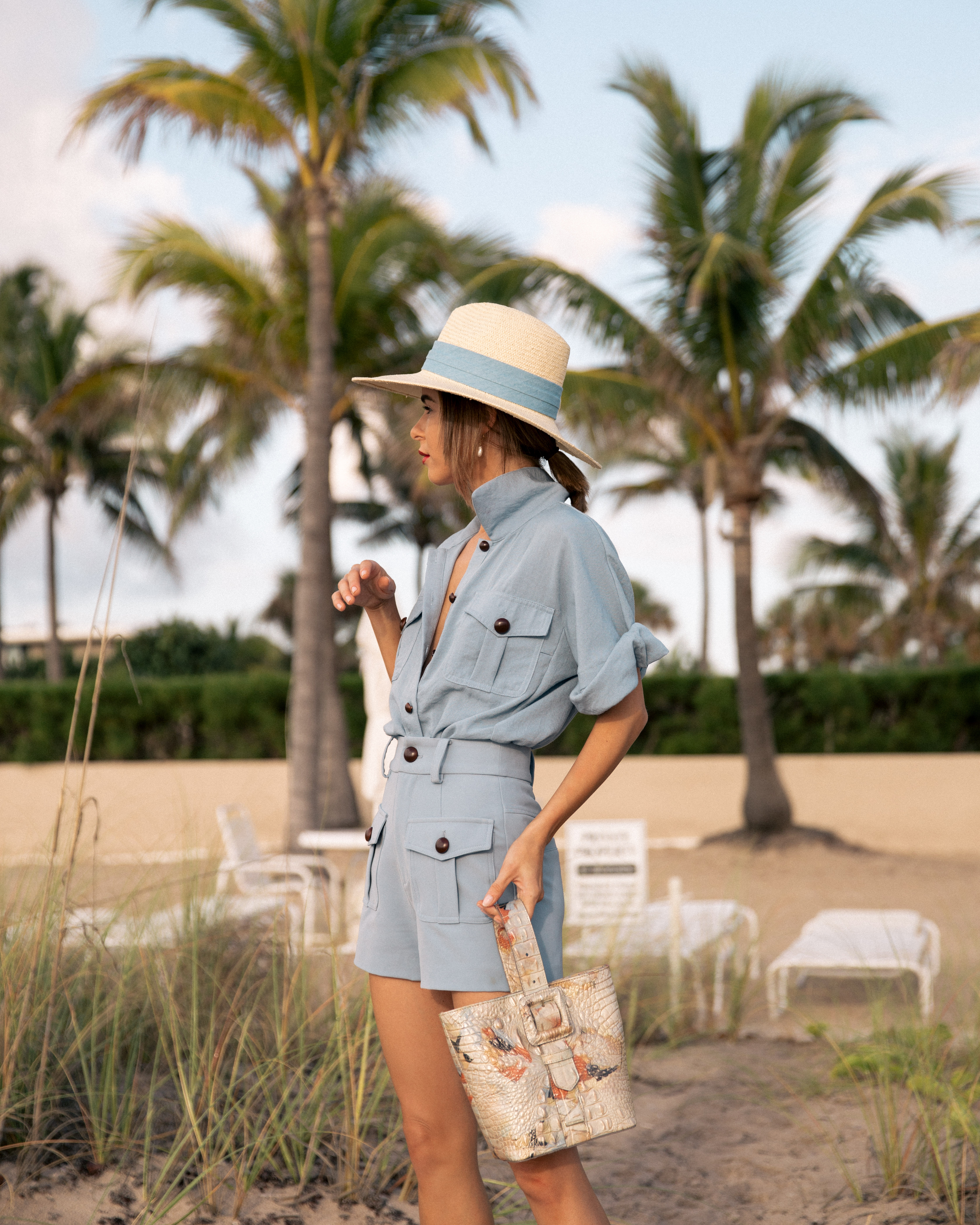 Style Blogger Stephanie Hill on The Style Bungalow shares From Hot to Hotter Brahmin