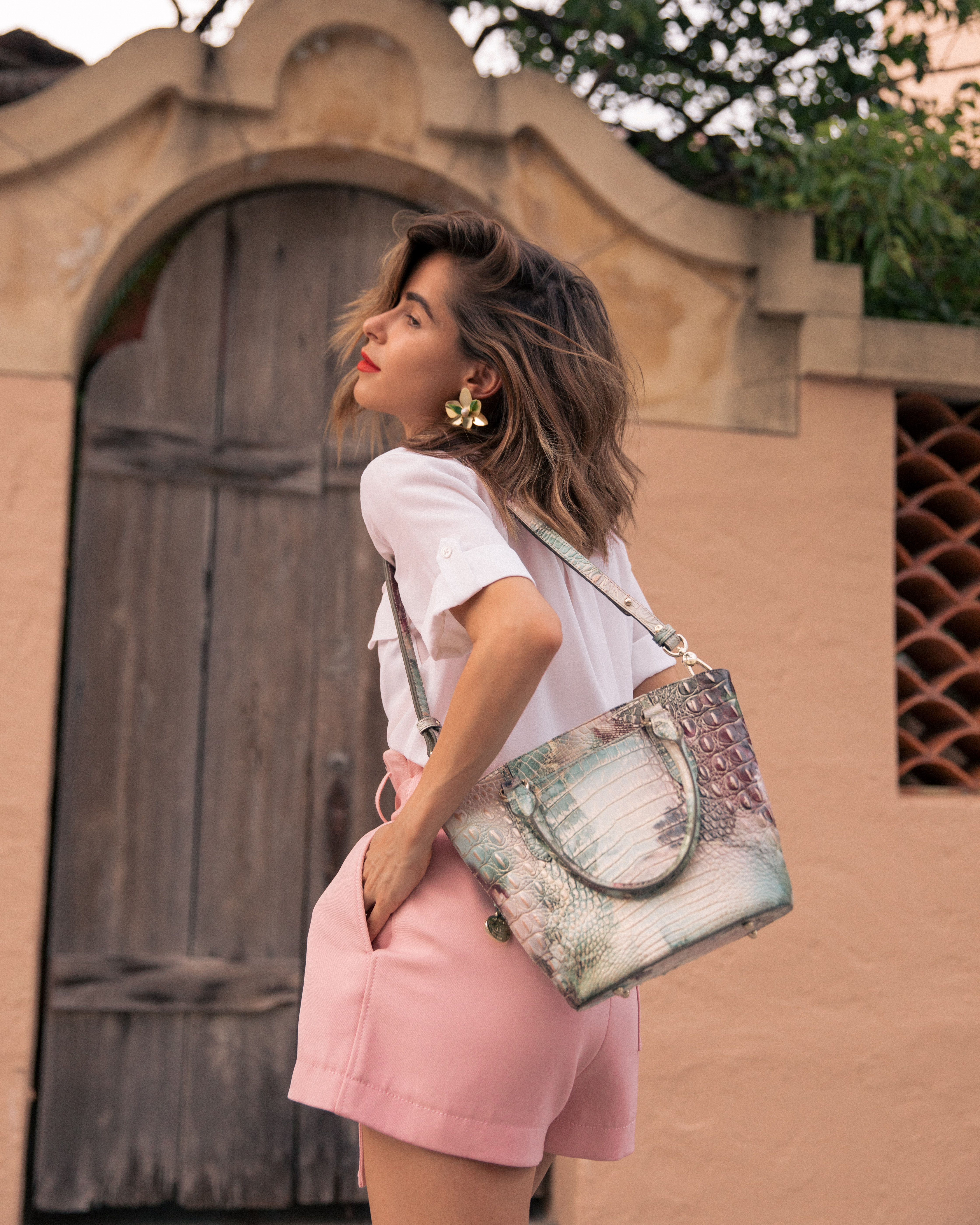 Stephanie Hill from The Style Bungalow featuring her Most Used Handbag of 2019