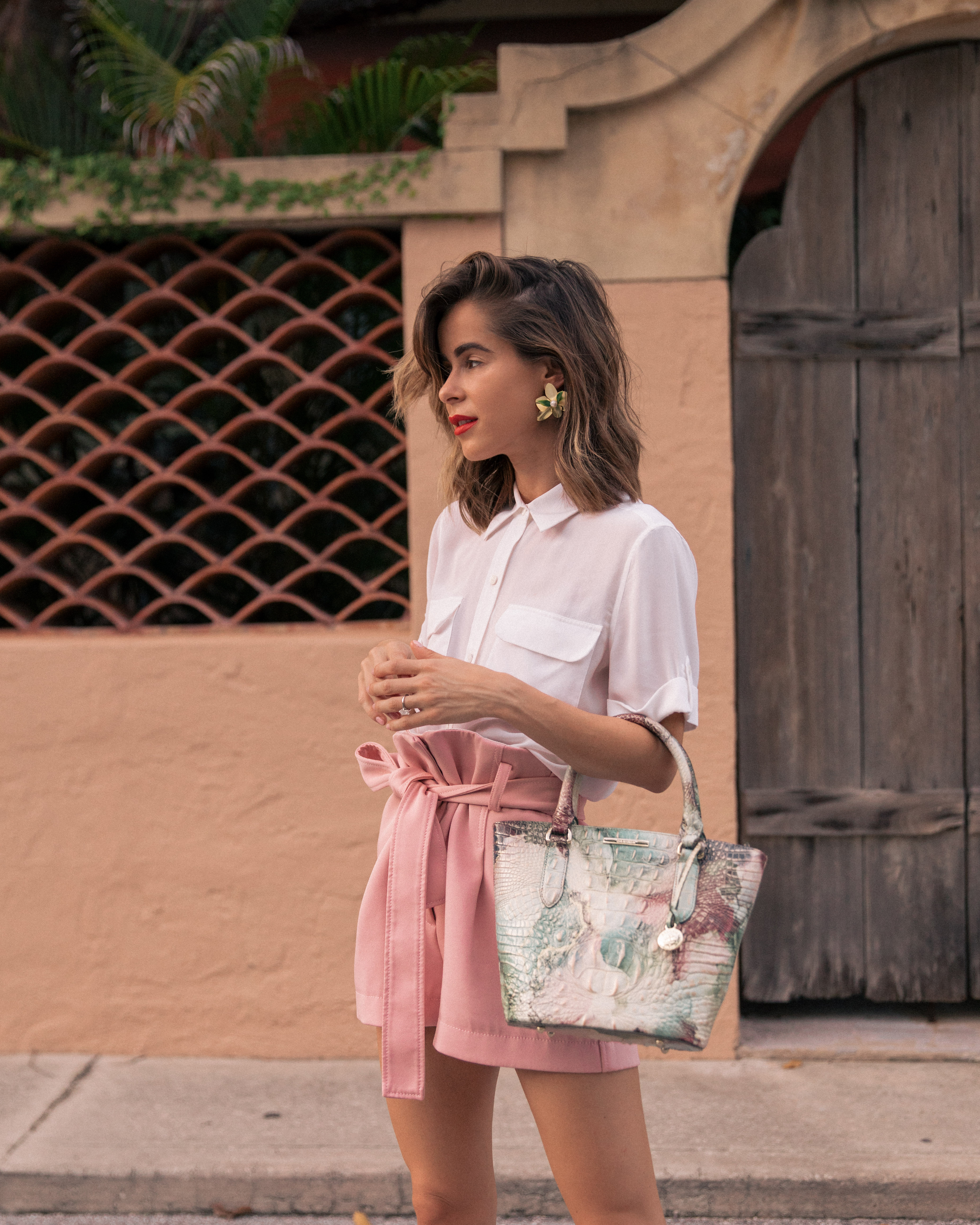 Stephanie Hill featuring her Most Used Handbag Brand of 2019 on The Style Bungalow