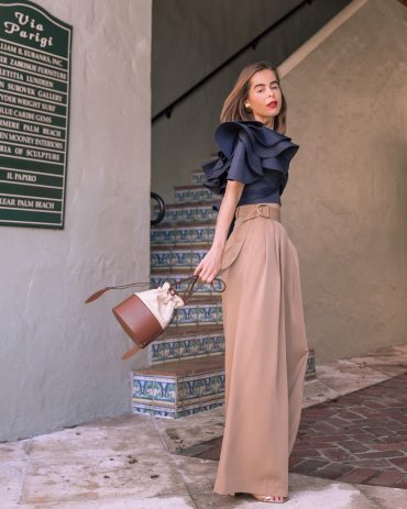 Featuring J.ING pants in an OOTD by Stephanie Hill on The Style Bungalow