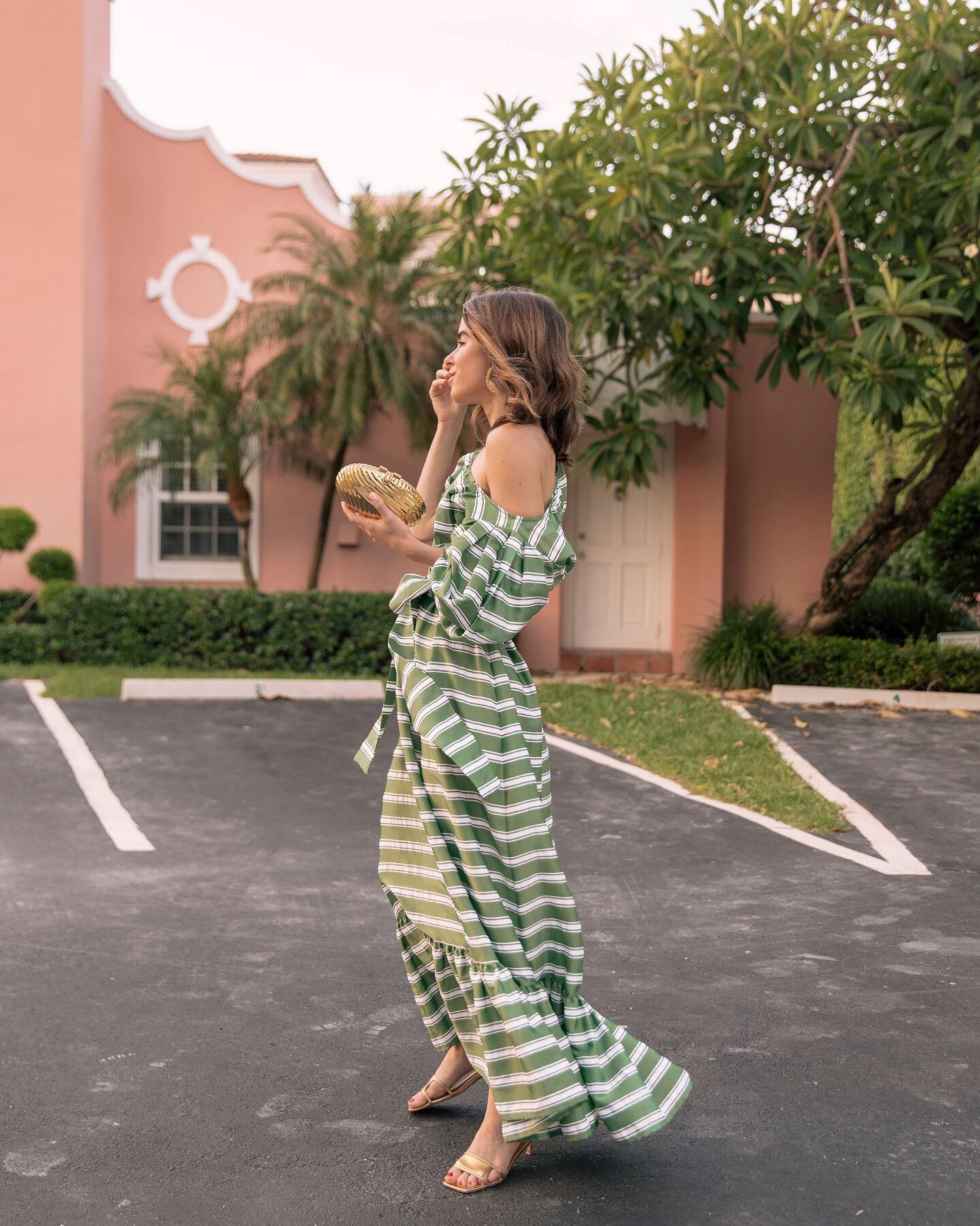 Today's OOTD featuring Lisa Marie Fernandez dress by Stephanie Hill on The Style Bungalow