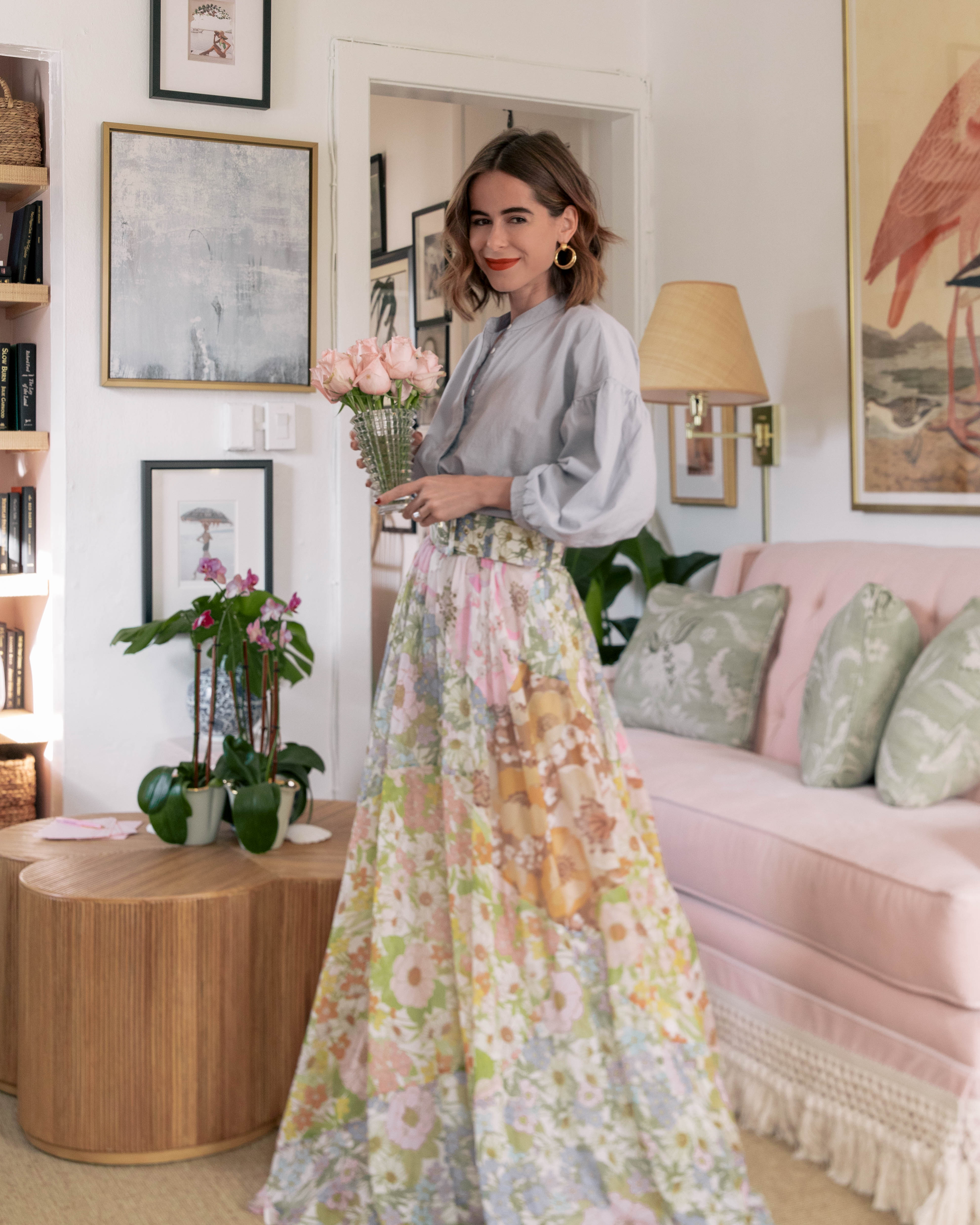 Fashion Blogger Stephanie Hill shares Small Spaces, Big Ideas with Roxy Te on The Style Bungalow