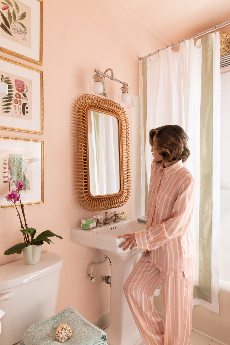Stephanie Hill reveals How I Turned My Bathroom into a Sanctuary on The Style Bungalow
