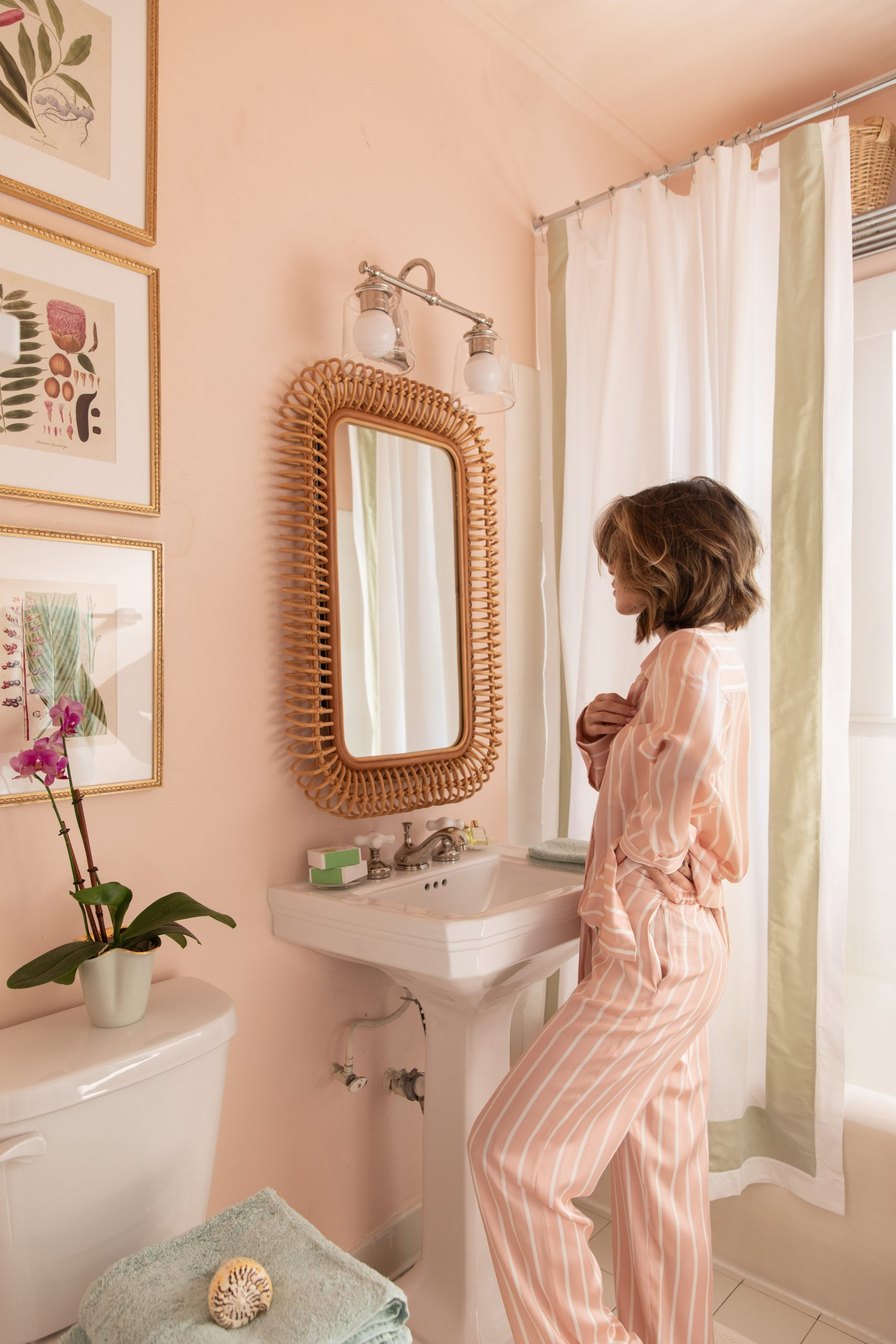 Fashion Blogger Stephanie Hill on How I Turned My Bathroom into a Sanctuary on The Style Bungalow