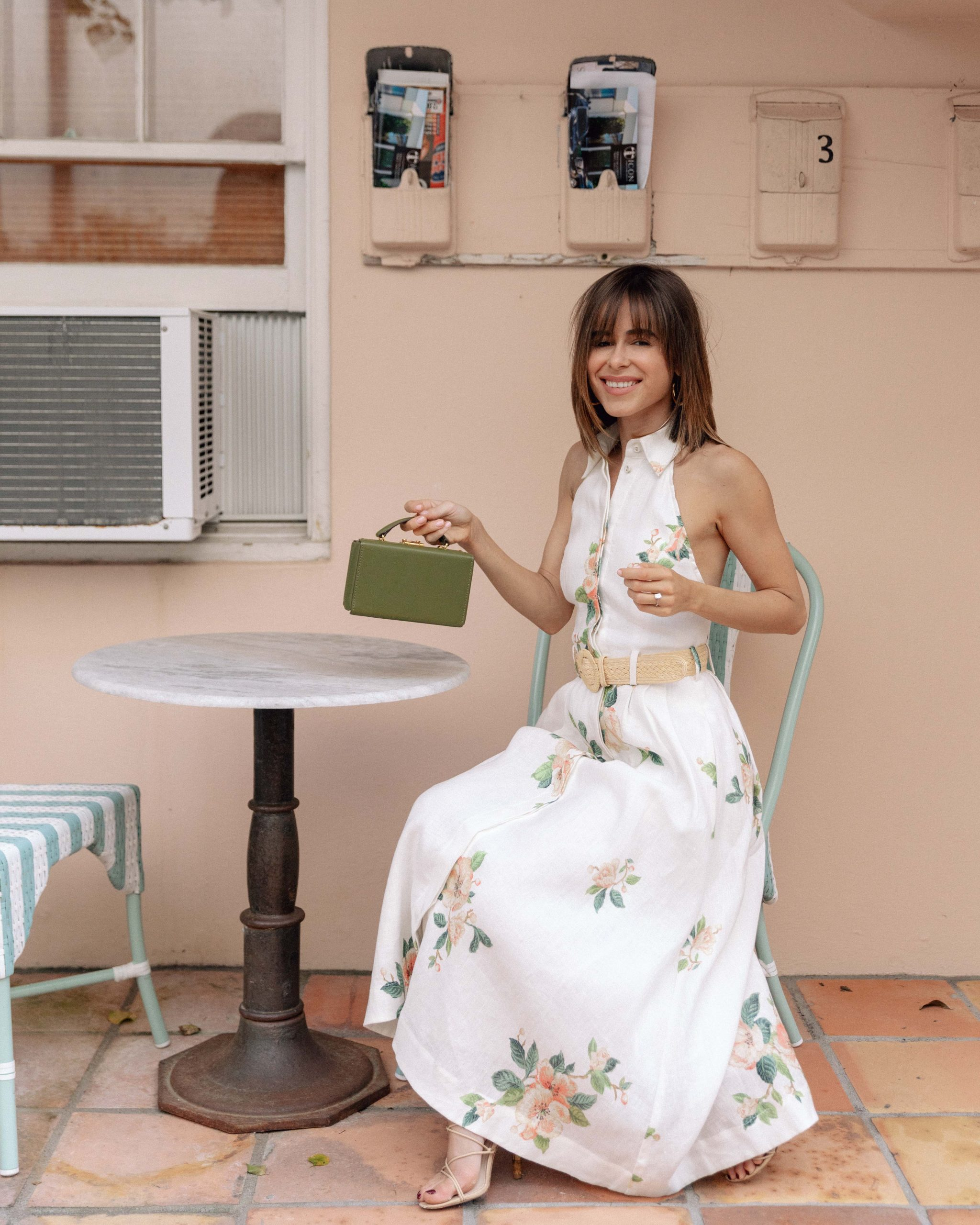 Fashion Blogger Stephanie Hill wears #ootd featuring Zimmermann dress on The Style Bungalow