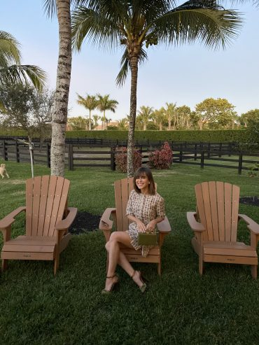 Stephanie Hill wears #ootd featuring Song of Style
