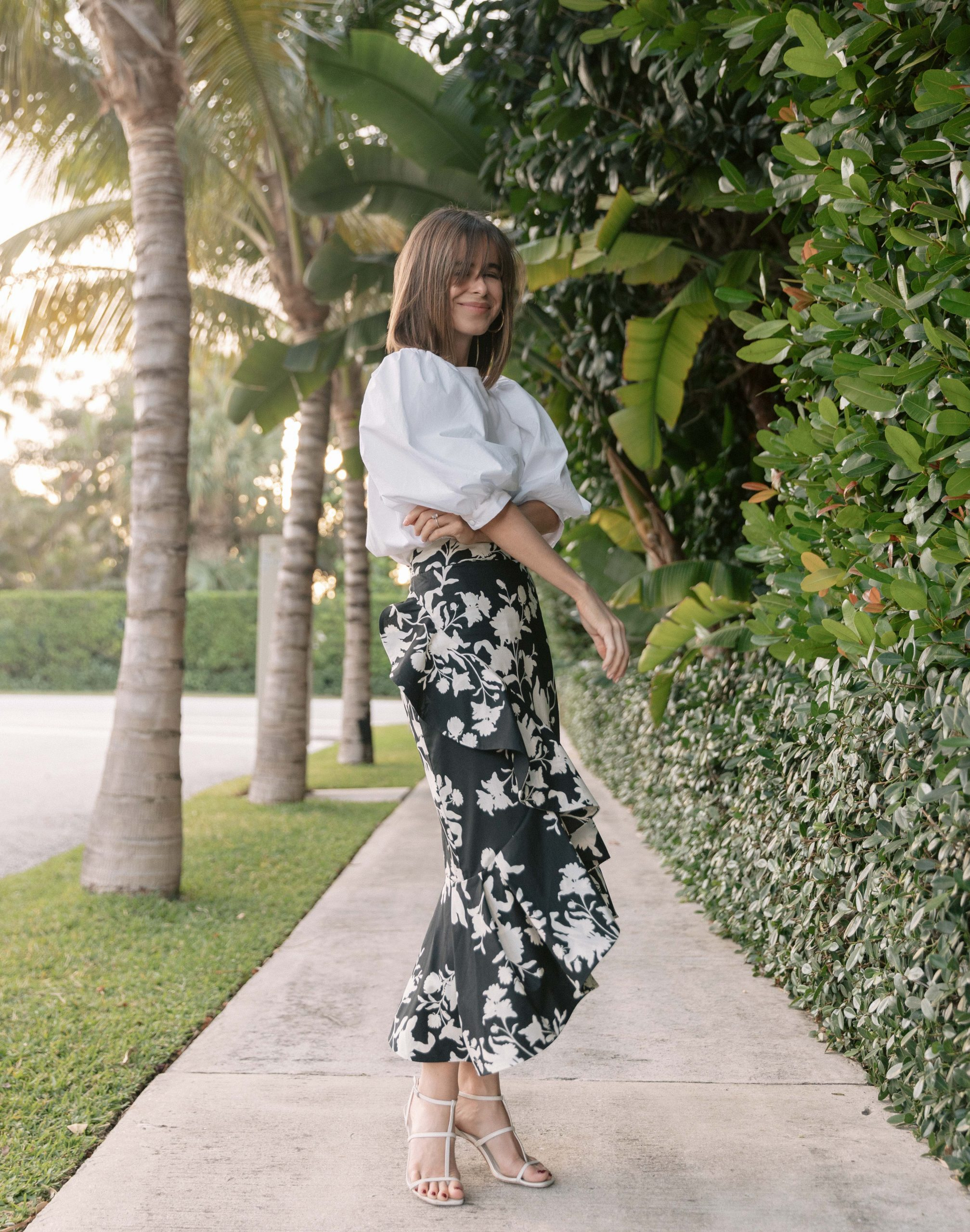 Style Blogger Stephanie Hill wears Johanna Ortiz x H&M on The Style Bungalow