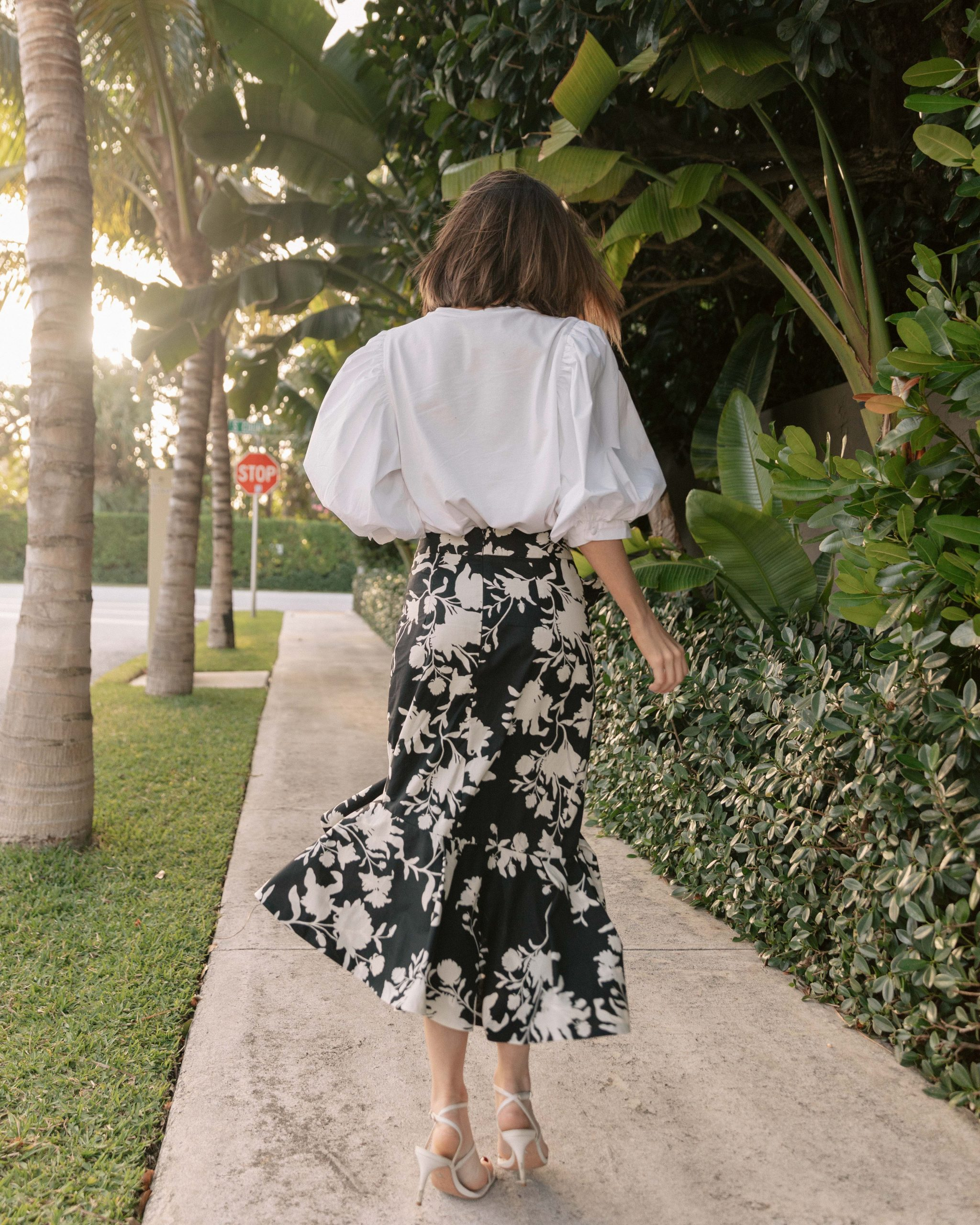 Fashion Blogger Stephanie Hill wears Johanna Ortiz x H&M on The Style Bungalow