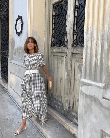 Stephanie Hill wears #ootd featuring Zara on The Style Bungalow
