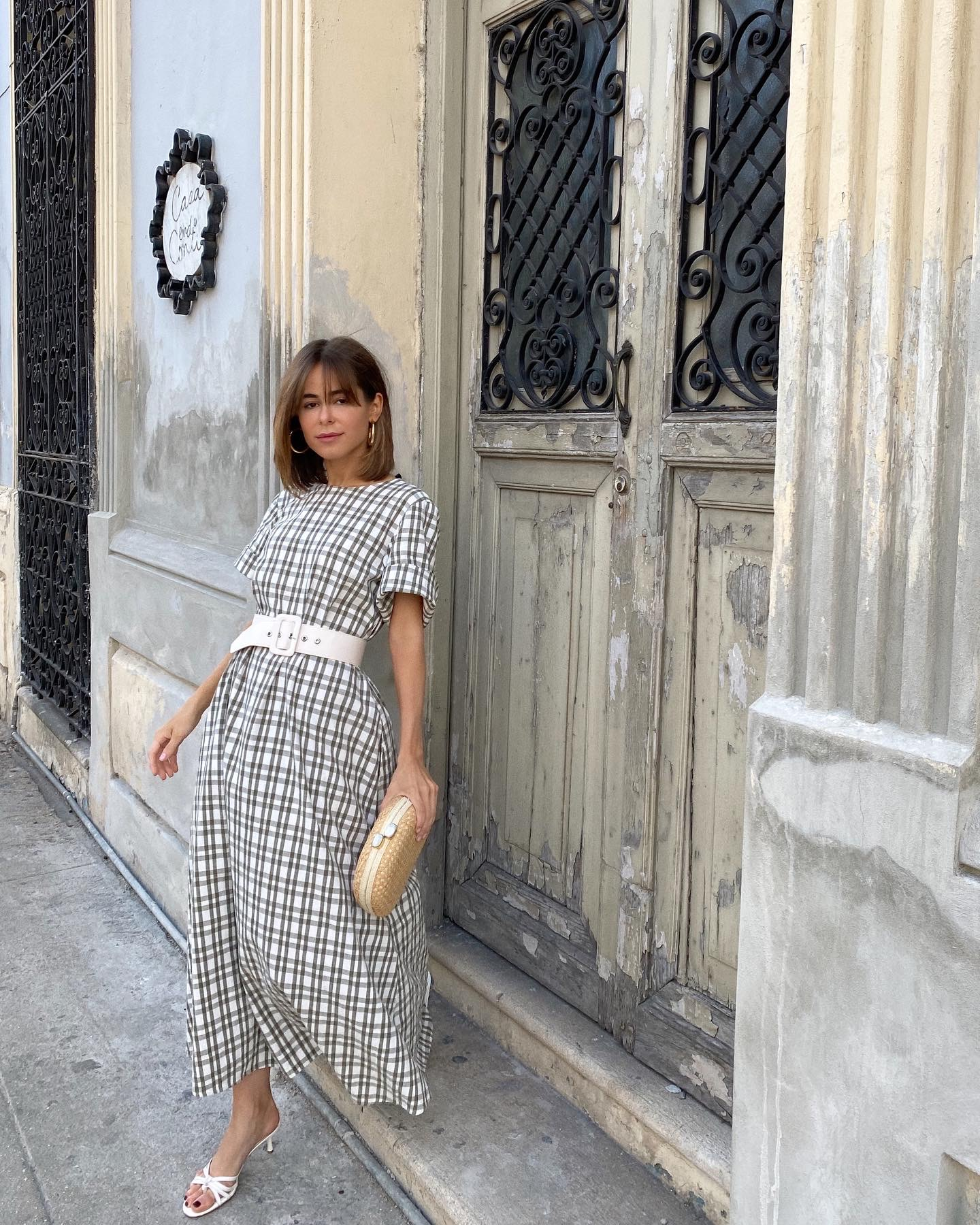 Blogger Stephanie Hill wears #ootd featuring Zara dress on The Style Bungalow