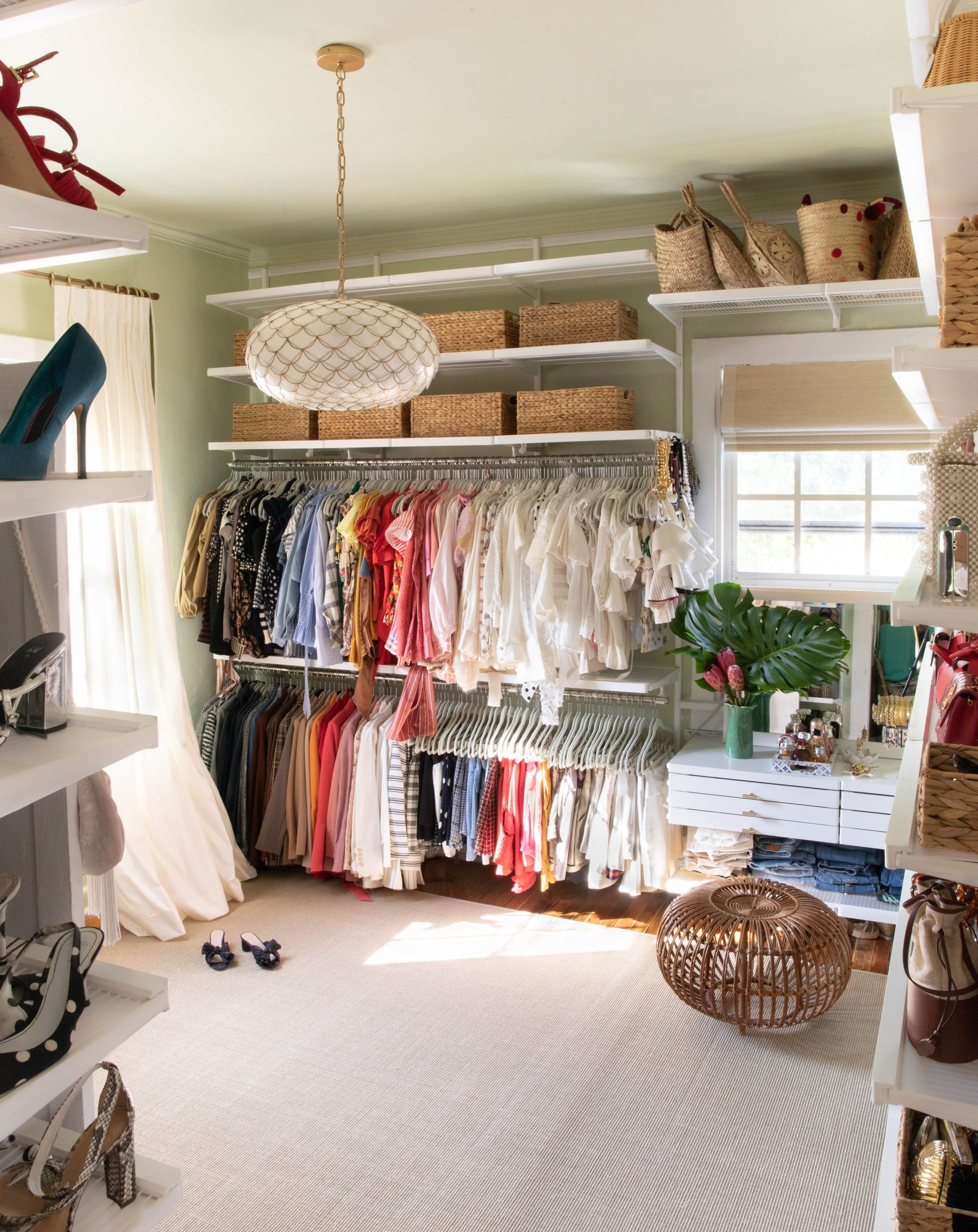 Stephanie Hill shares her Spring Cleaning My Master Closet on The Style Bungalow