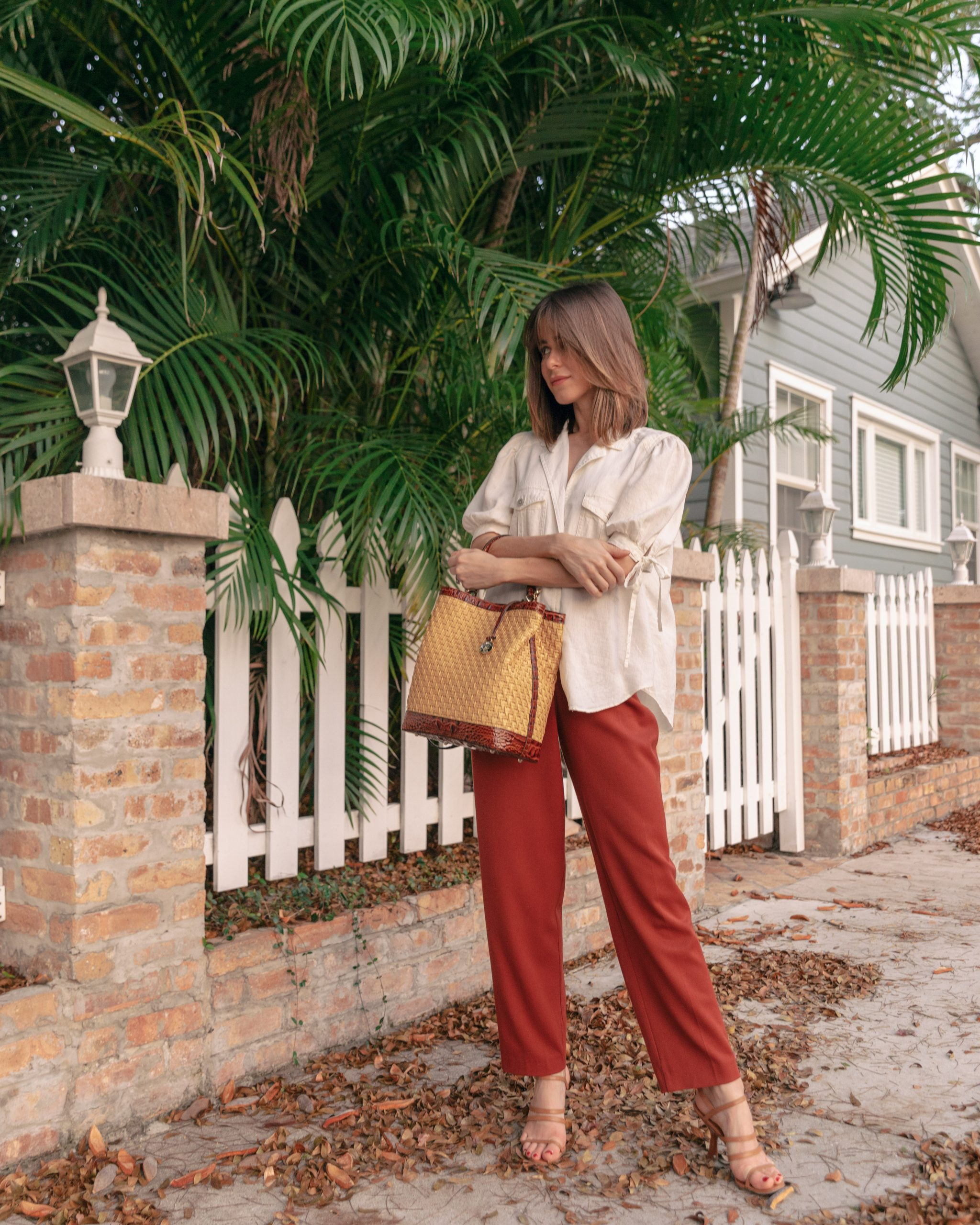 Style Blogger Stephanie Hill speaks on Journaling with Brahmin on The Style Bungalow
