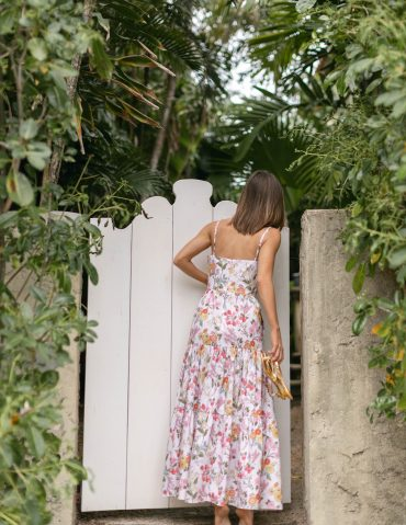 Lifestyle Blogger features #ootd in a dress by Coco Shop on The Style Bungalow