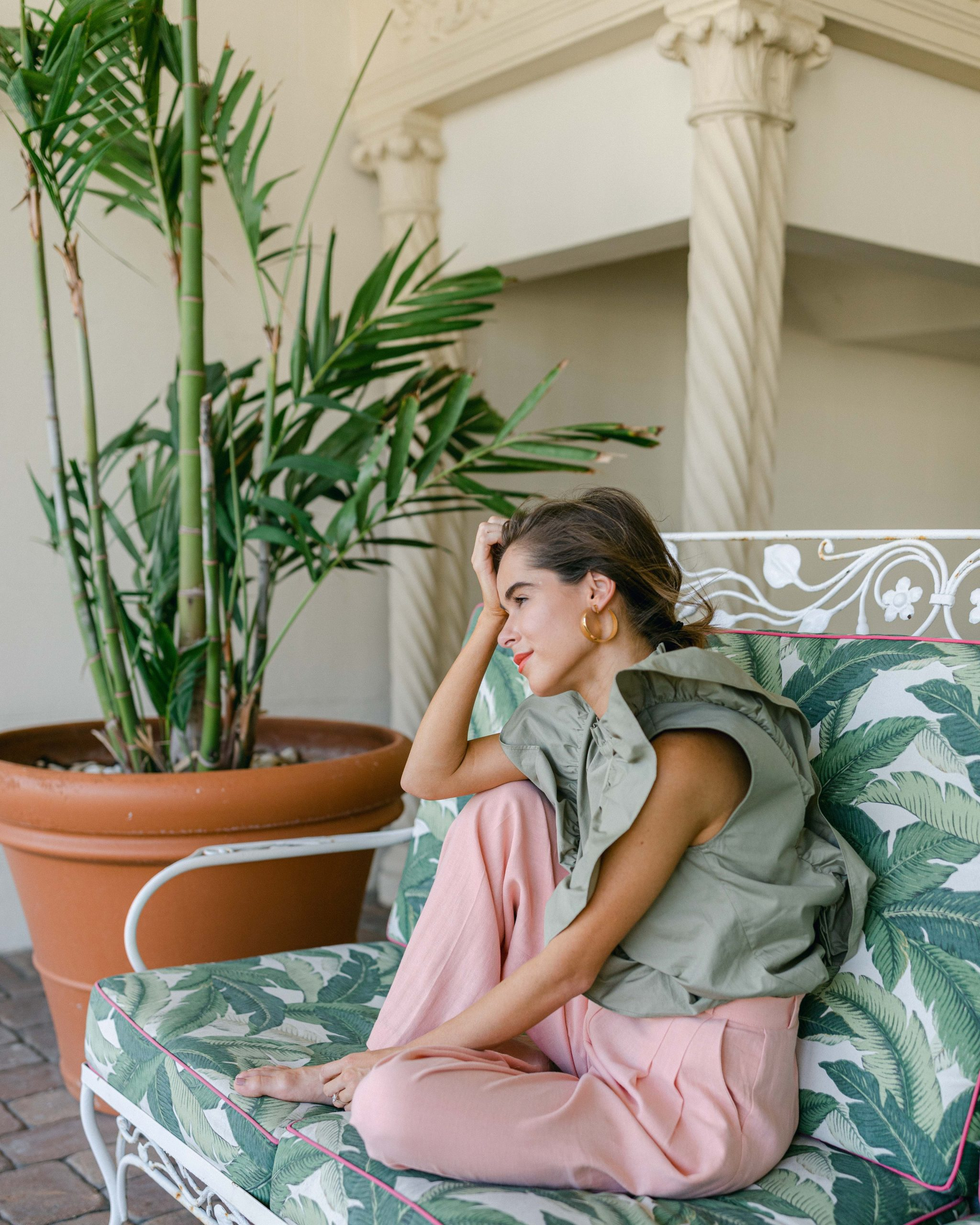 Style Blogger Stephanie Hill featuring If Only I Had a Patio on The Style Bungalow
