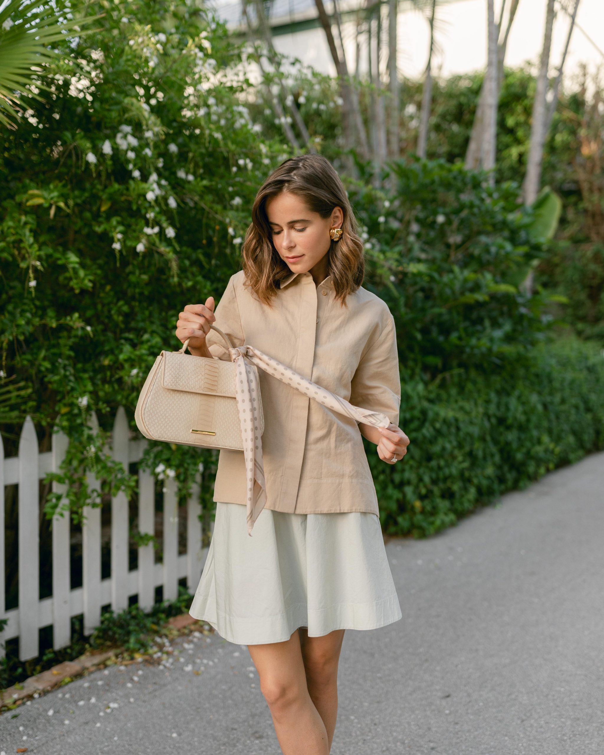Style Blogger Stephanie Hill features What's In My Handbag on The Style Bungalow