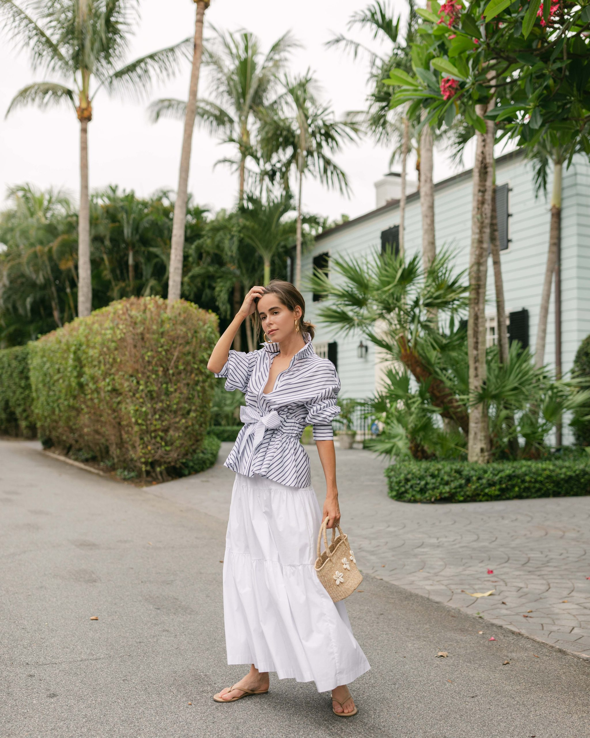 Style Blogger Stephanie Hill wears #ootd featuring Lela Rose on The Style Bungalow