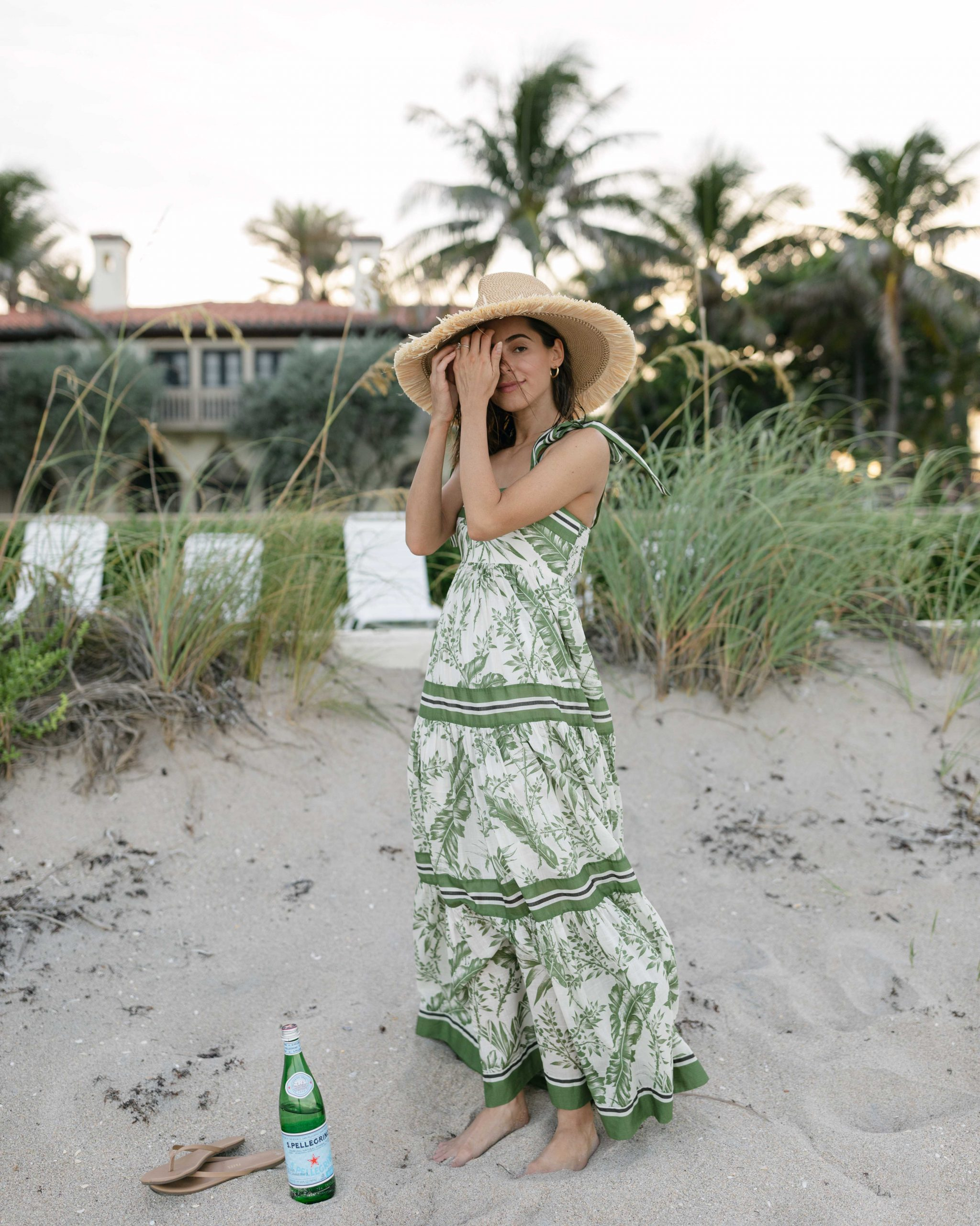Stephanie Hill wears #ootd featuring a Zimmermann dress on The Style Bungalow