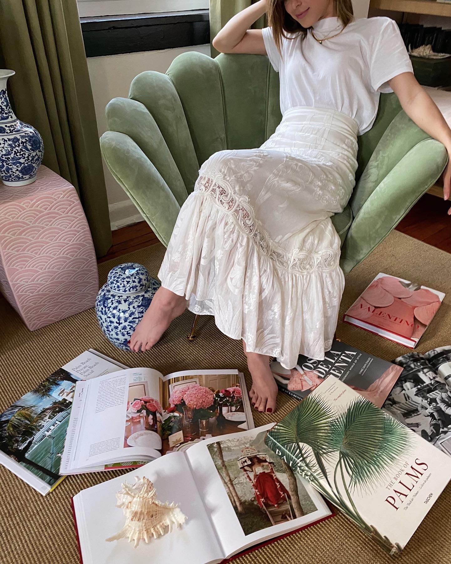 Lifestyle Blogger Stephanie Hill shares My Favorite Coffee Table Books Right Now on The Style Bungalow