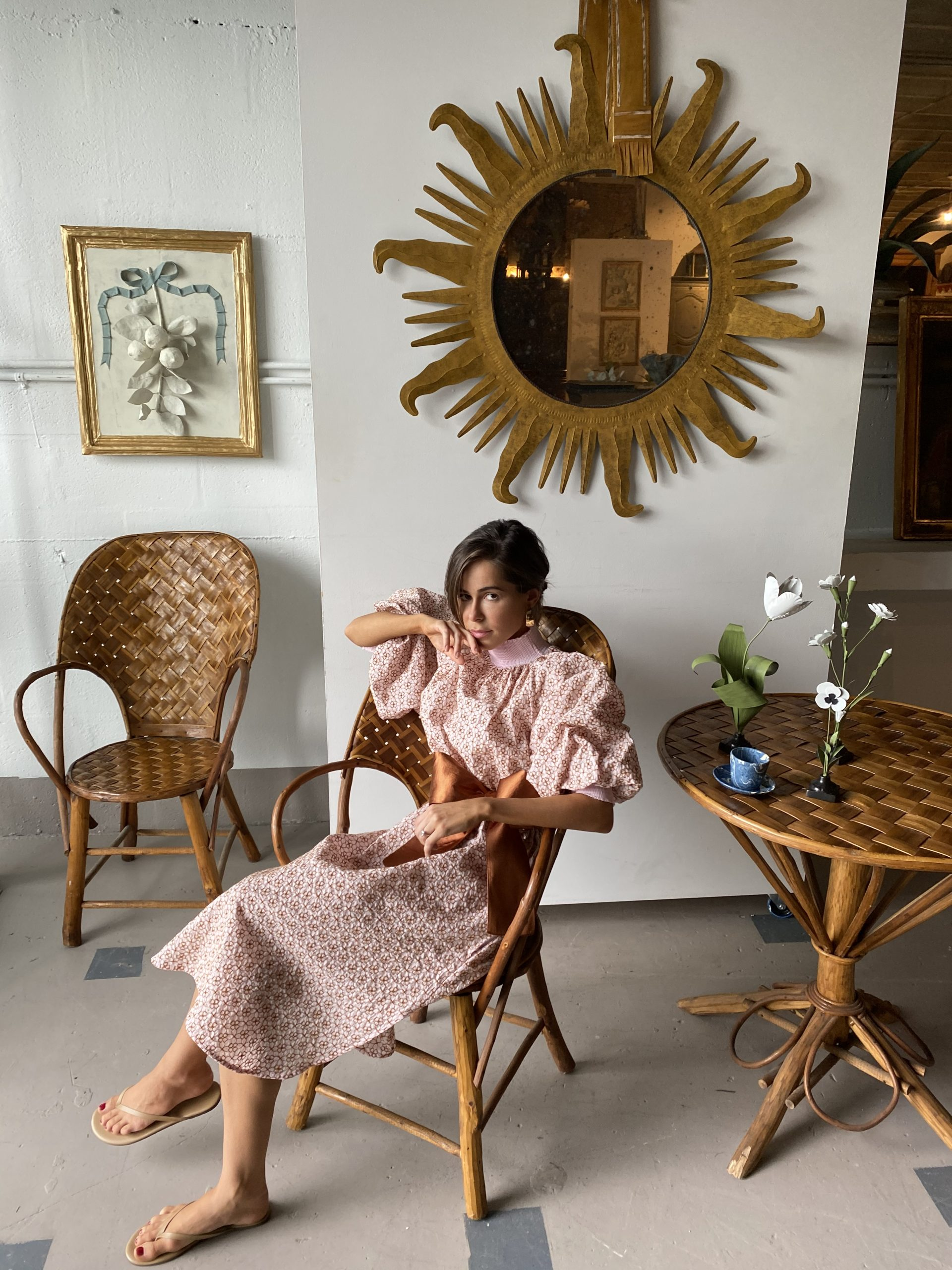Lifestyle Blogger Stephanie Hill wears a dress by My Beachy Side on The Style Bungalow