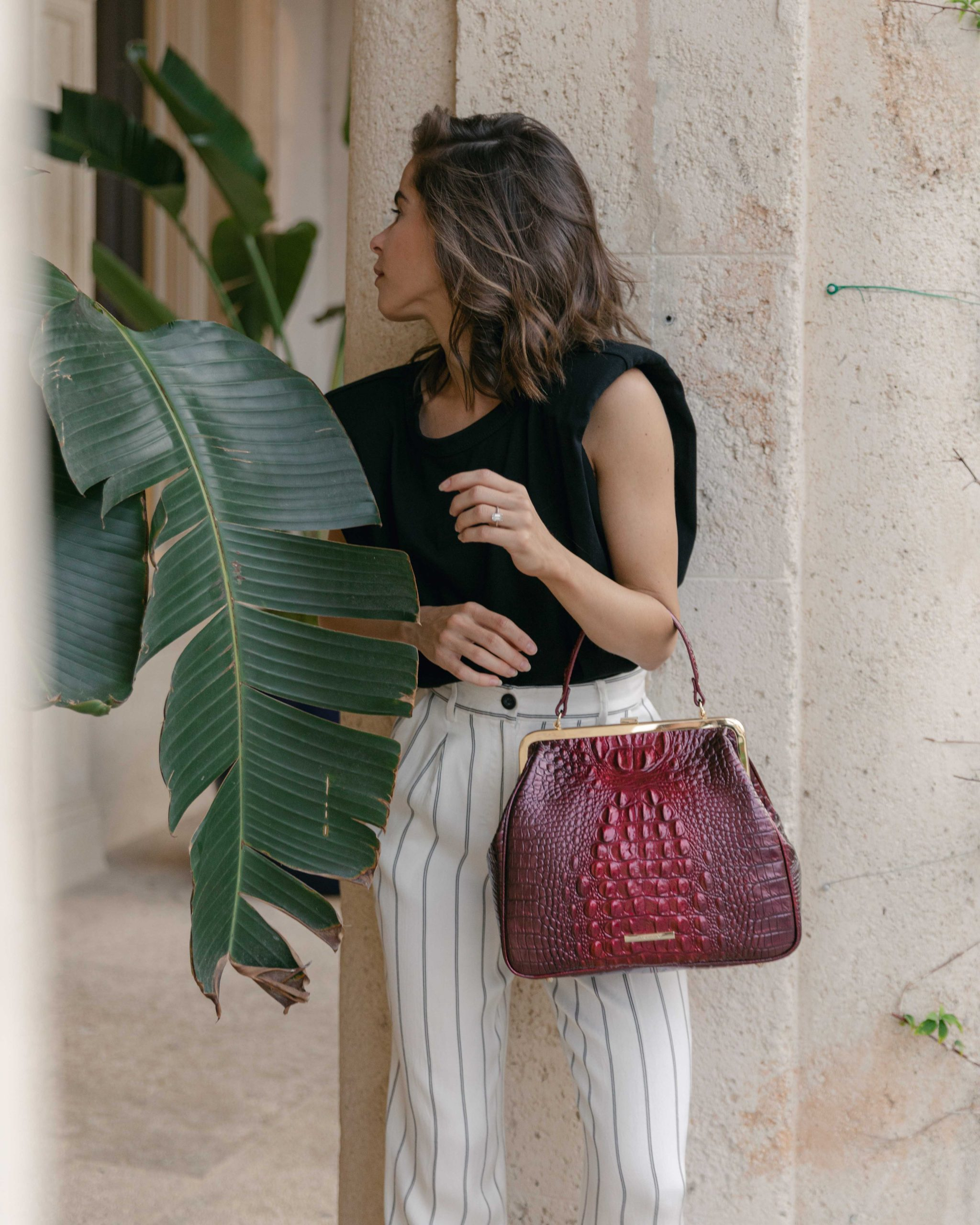 Fashion Blogger Stephanie Hill features Anine Bing on The Style Bungalow
