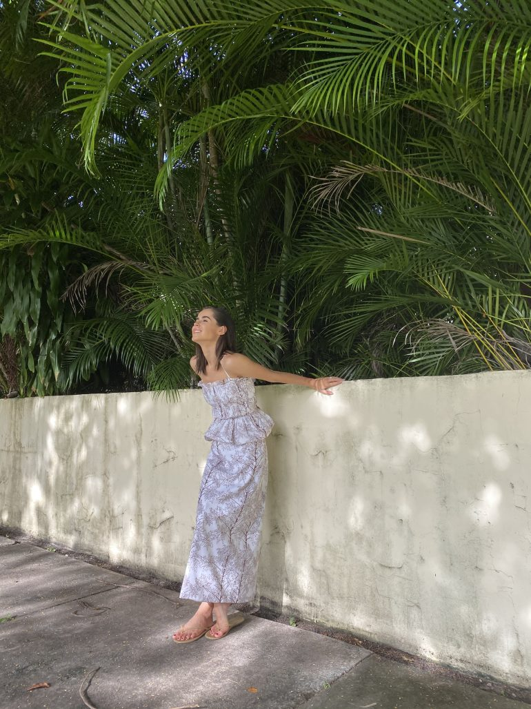 Life Style Blogger Stephanie Hill wears Coco Shop set on The Style Bungalow