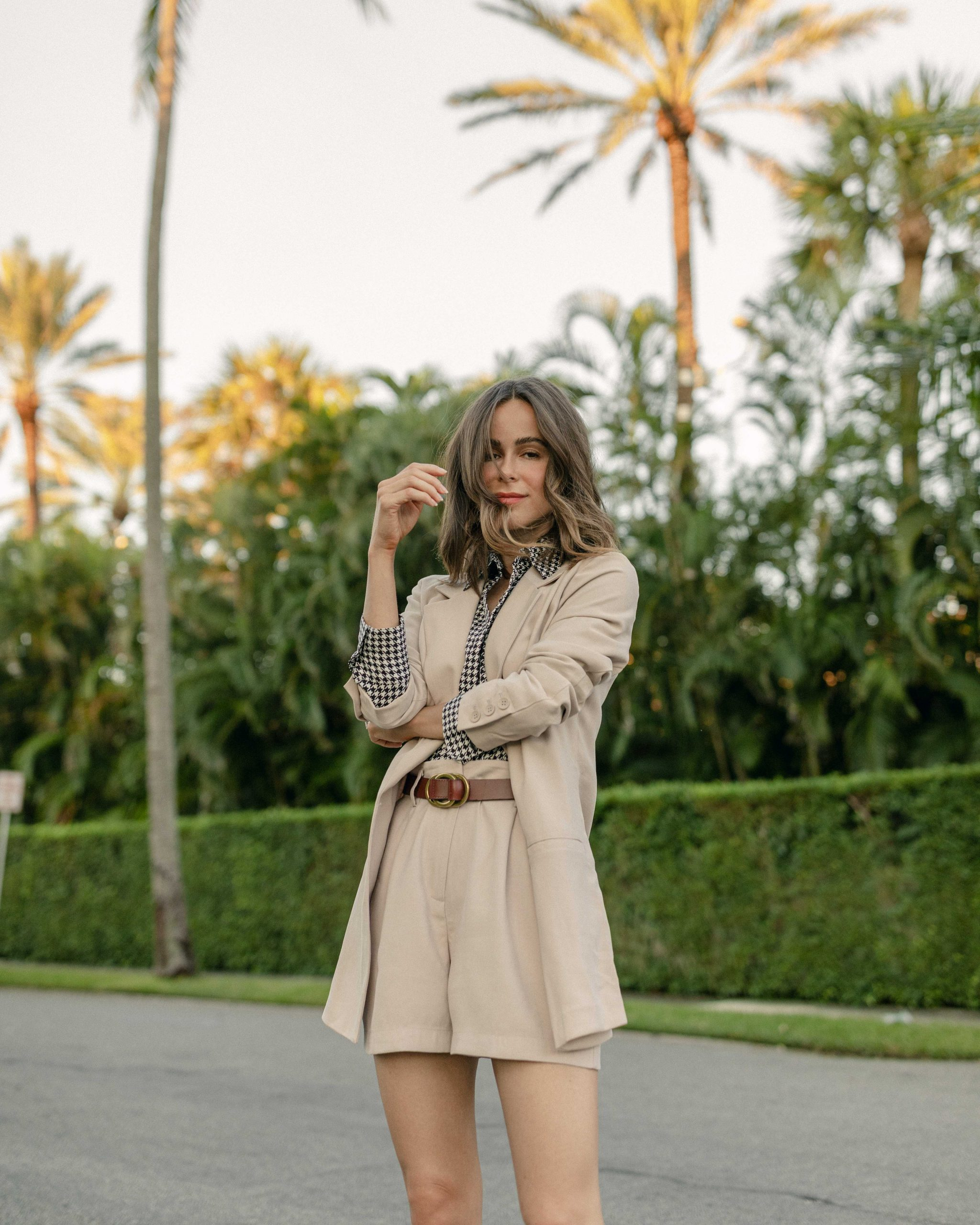 Fashion Blogger Stephanie Hill features Fall Layering in Florida on The Style Bungalow