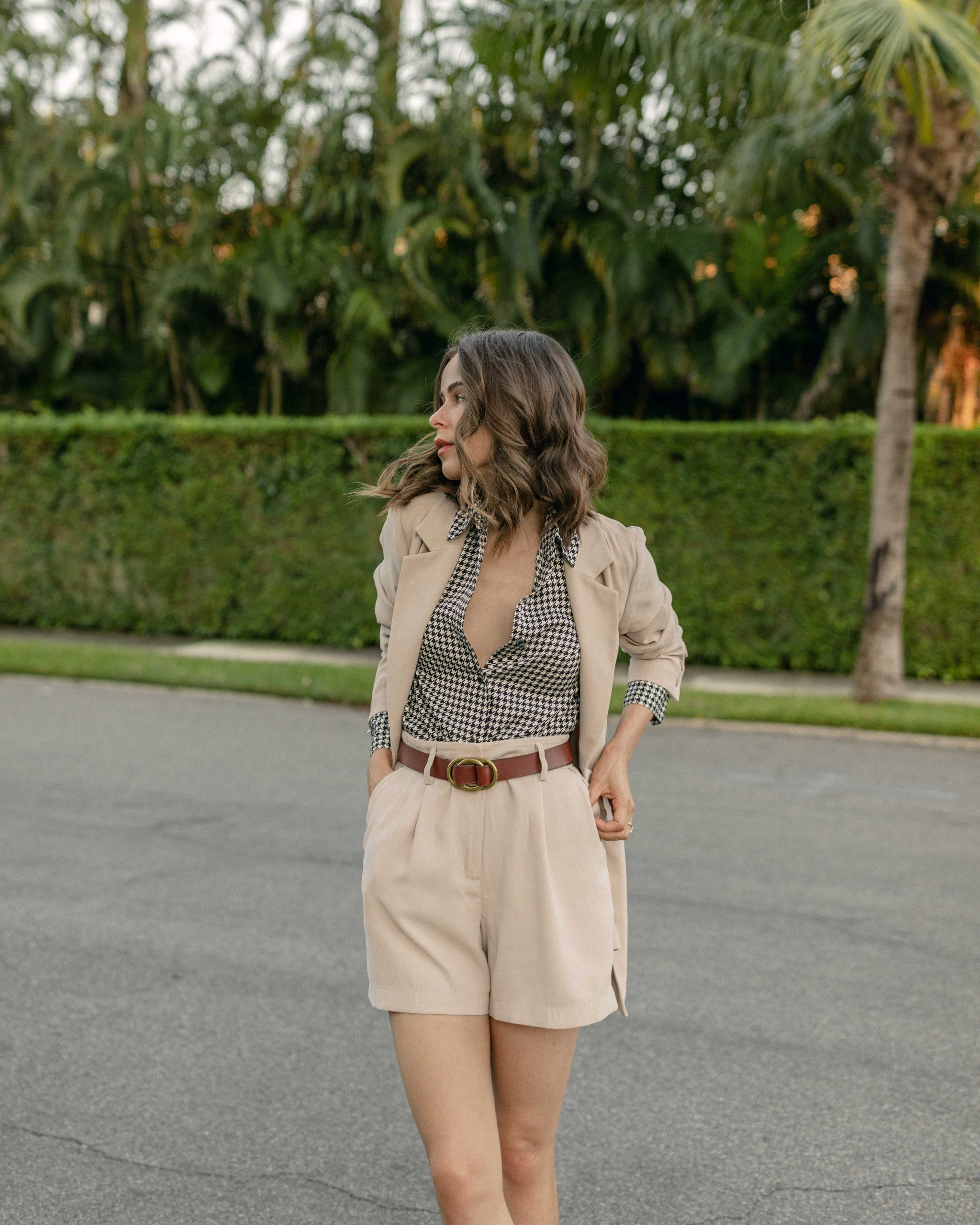 Style Blogger Stephanie Hill features Fall Layering in Florida on The Style Bungalow