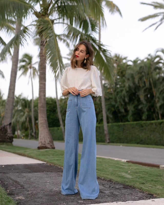Lifestyle Blogger Stephanie Hill wears #ootd featuring Sezane on The Style Bungalow