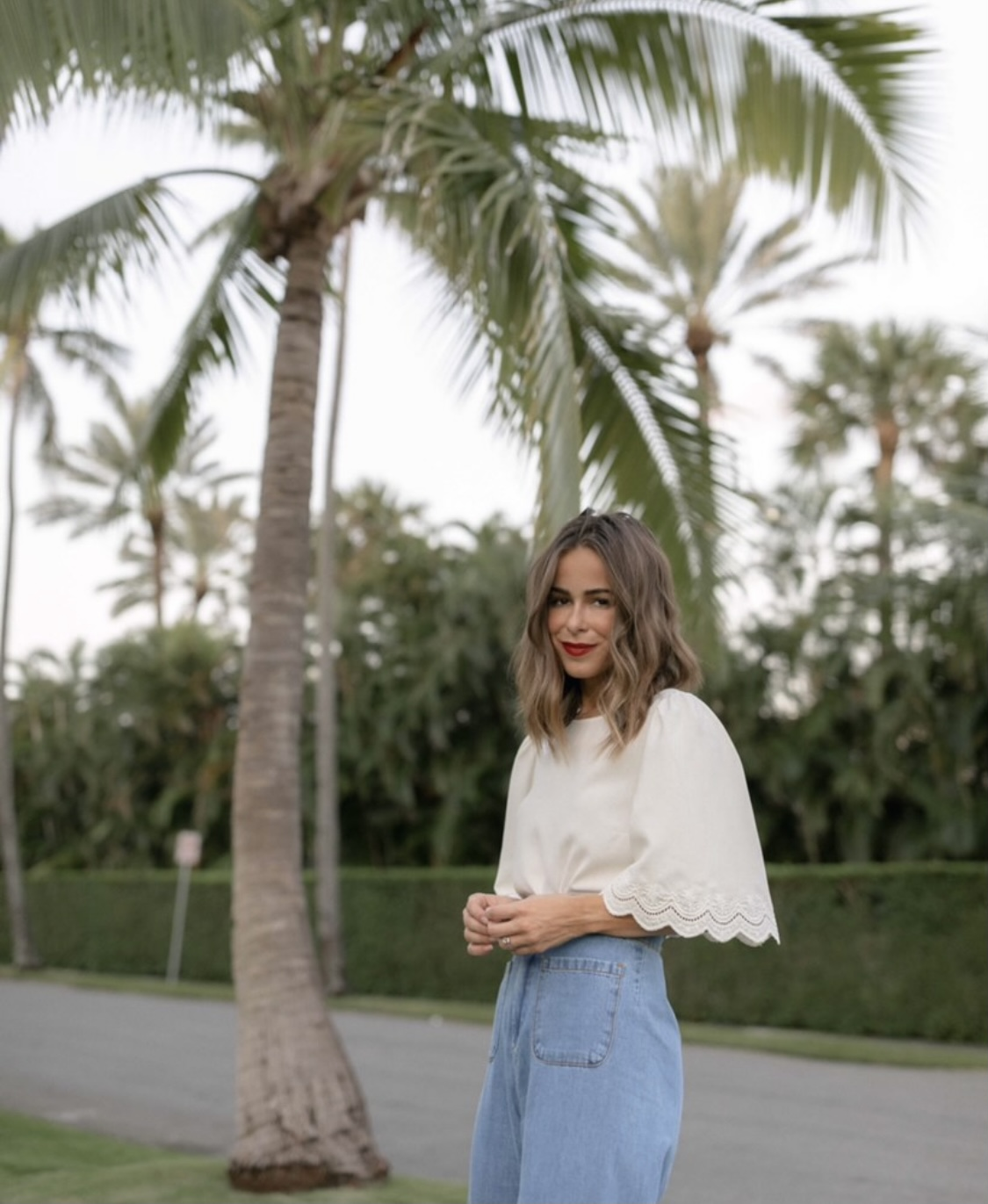 Stephanie Hill wears #ootd featuring Sezane on The Style Bungalow